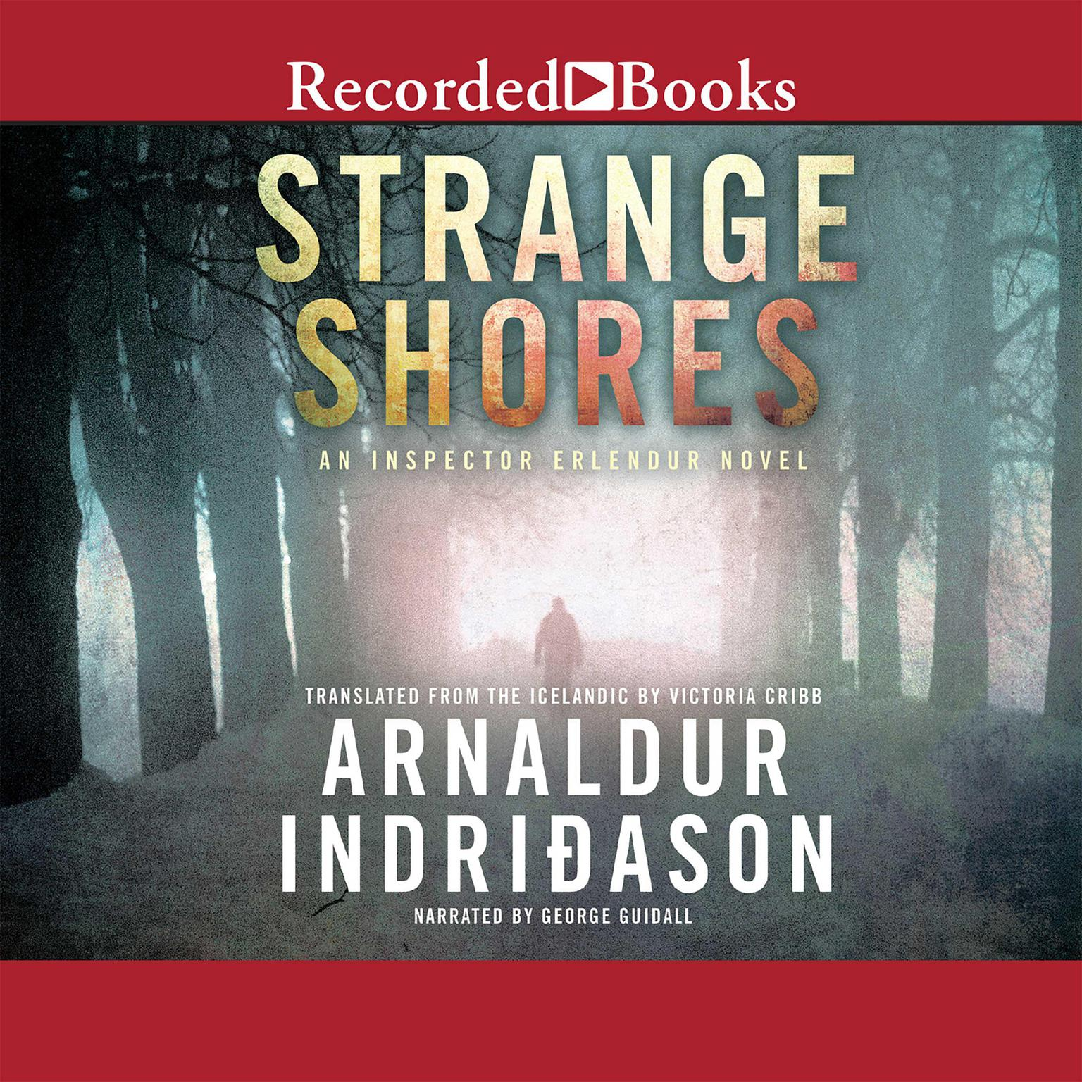 Printable Strange Shores Audiobook Cover Art