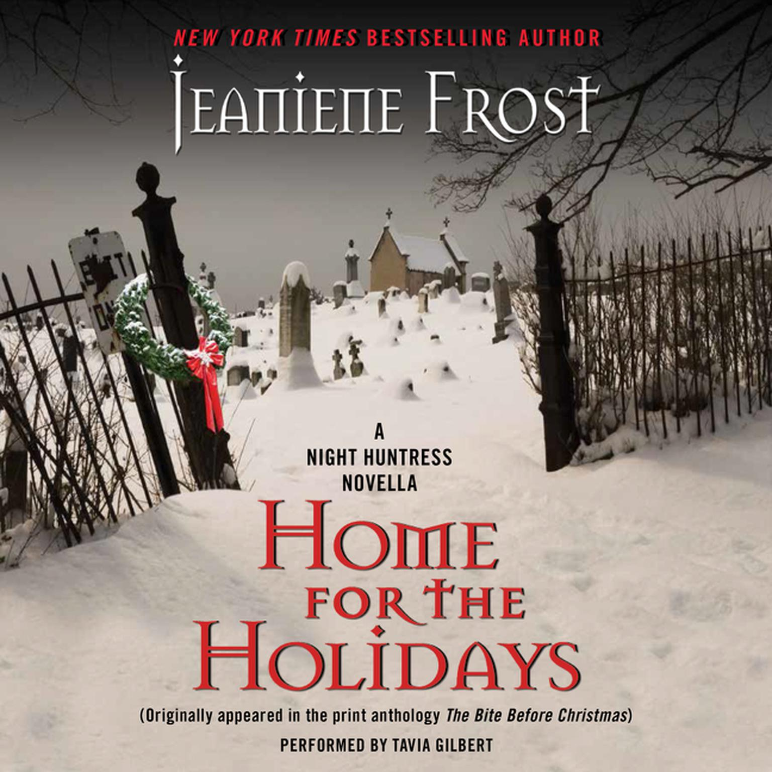 Printable Home for the Holidays: A Night Huntress Novella Audiobook Cover Art