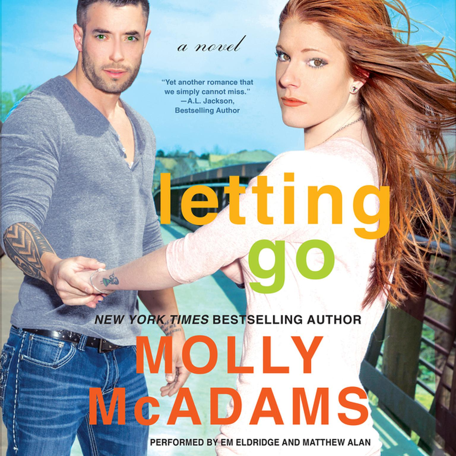 Printable Letting Go: A Novel Audiobook Cover Art