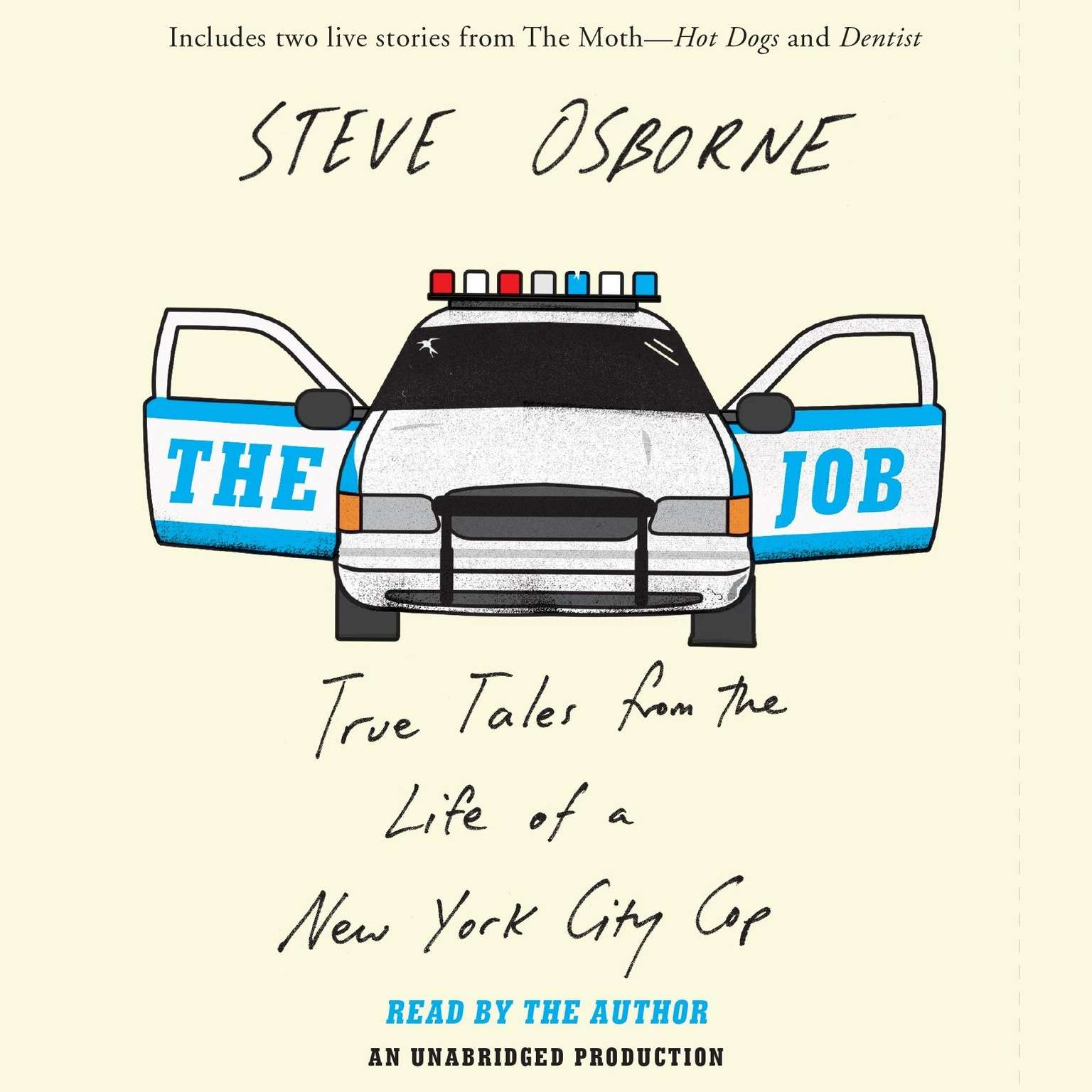 Printable The Job: True Tales from the Life of a New York City Cop Audiobook Cover Art