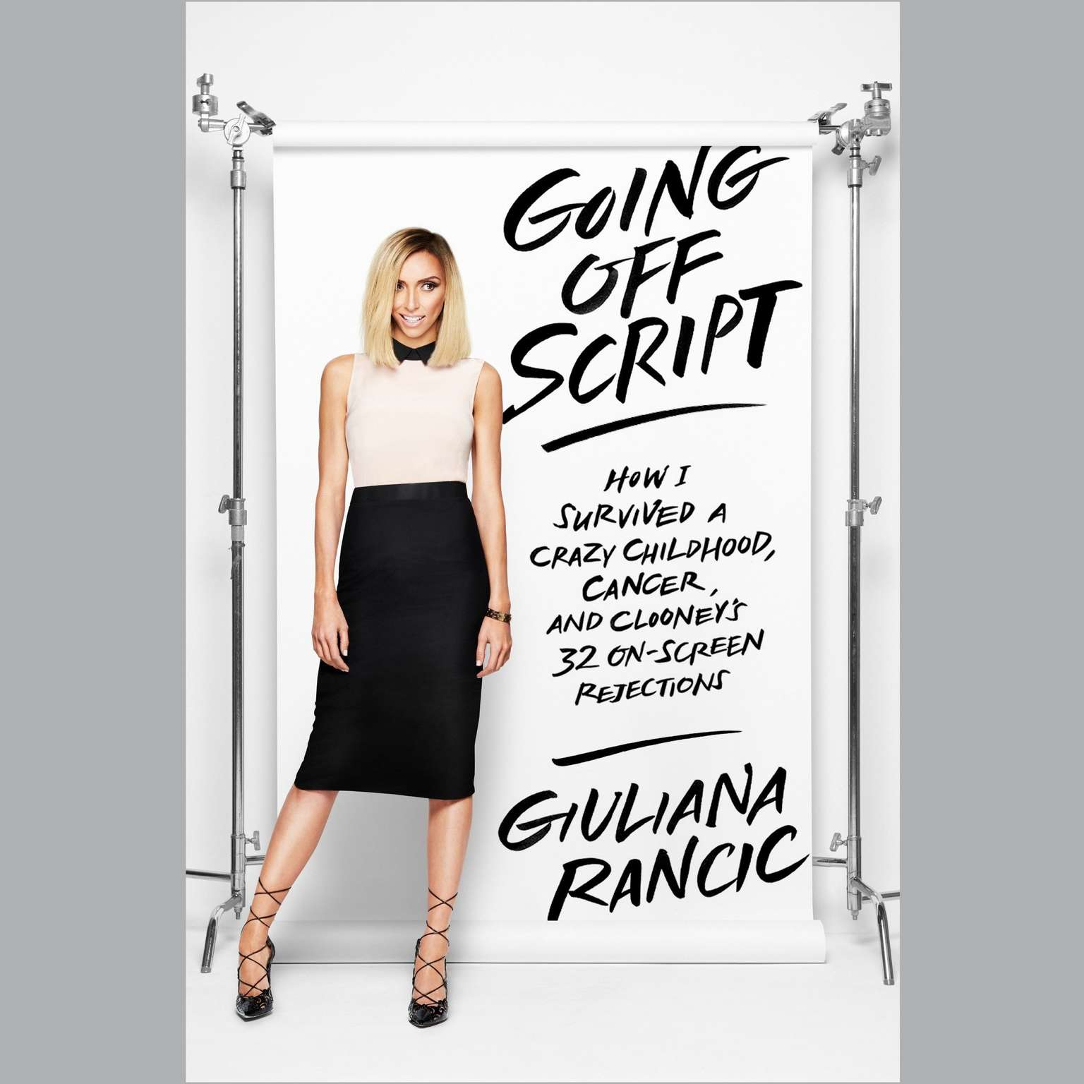 Printable Going Off Script: How I Survived a Crazy Childhood, Cancer, and Clooney's 32 On-Screen Rejections Audiobook Cover Art