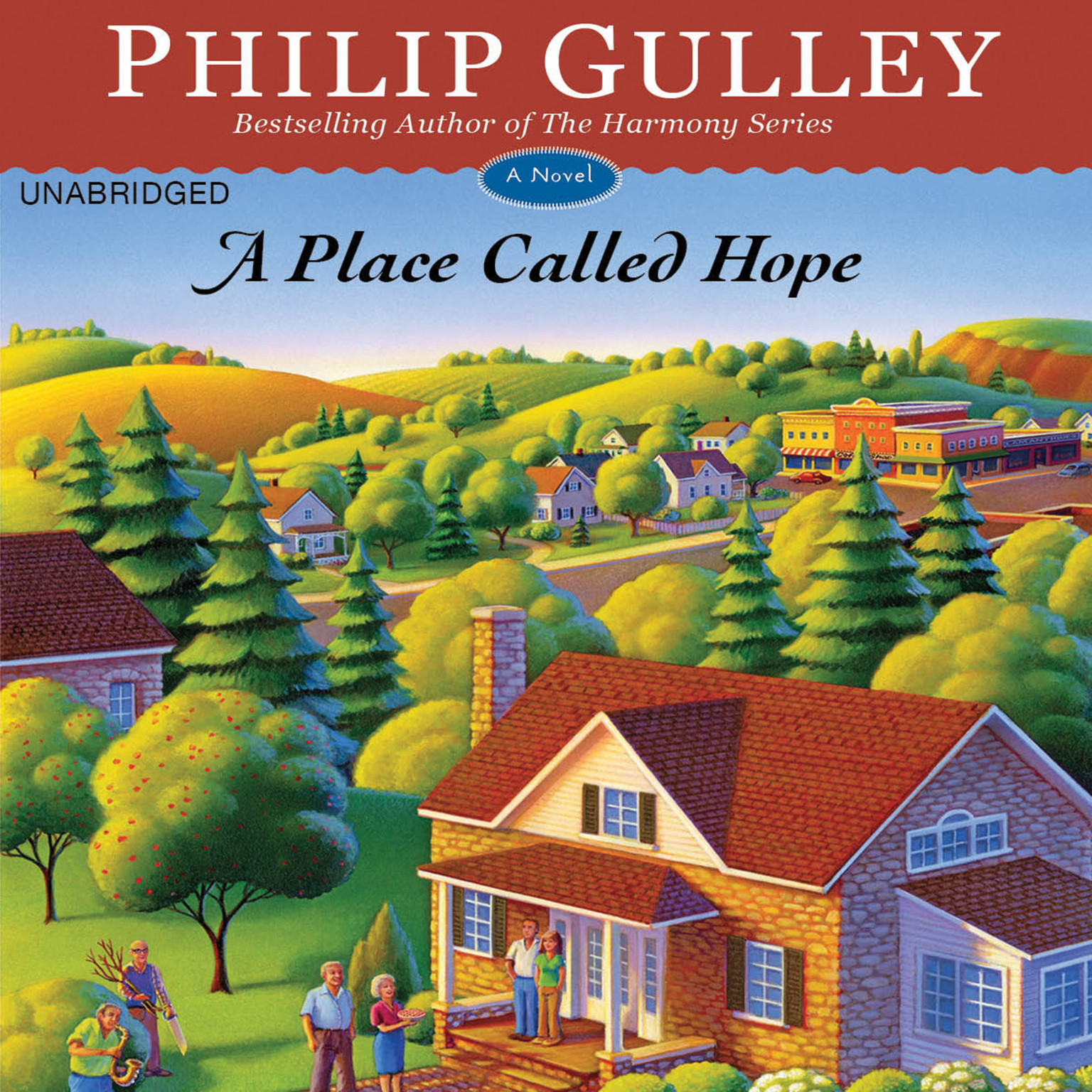 Printable A Place Called Hope: A Novel Audiobook Cover Art