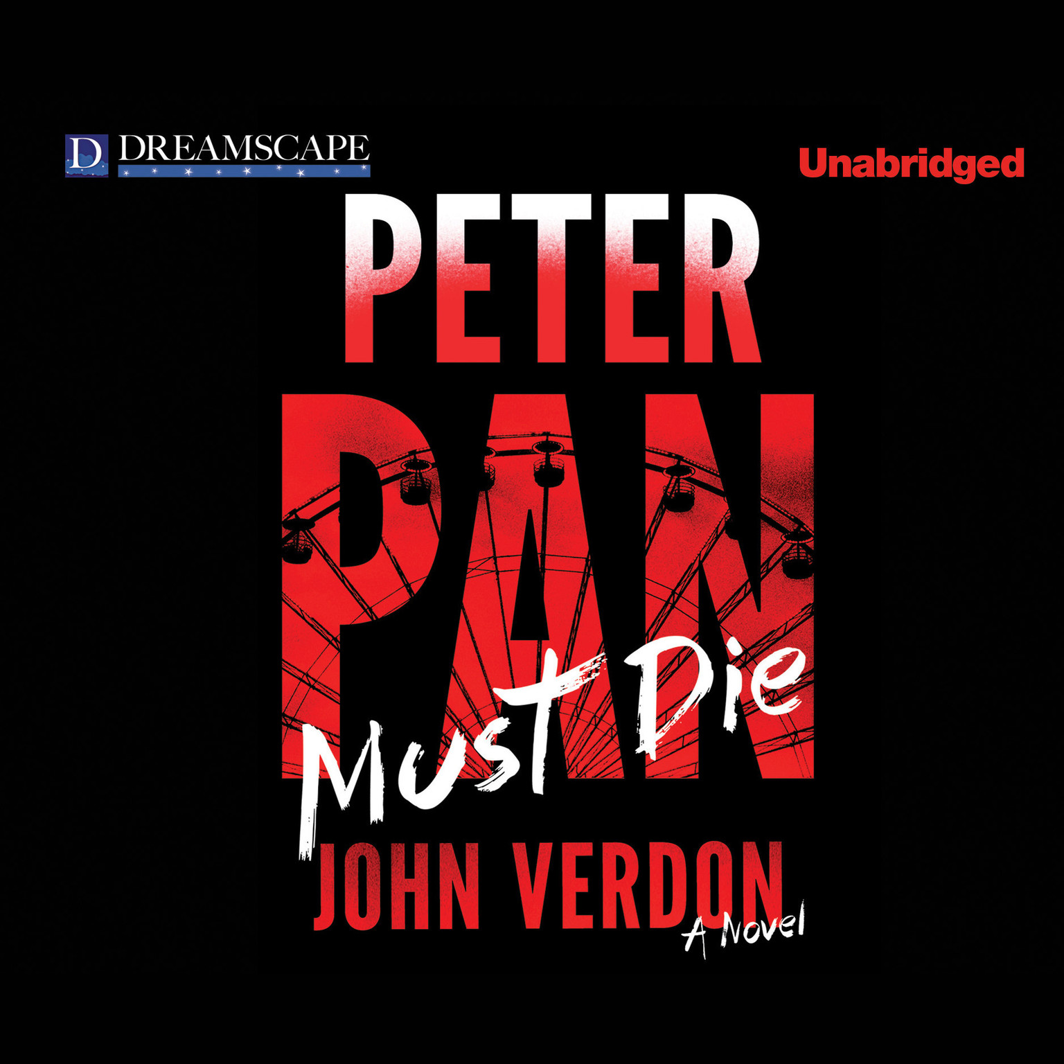Printable Peter Pan Must Die: A Novel Audiobook Cover Art