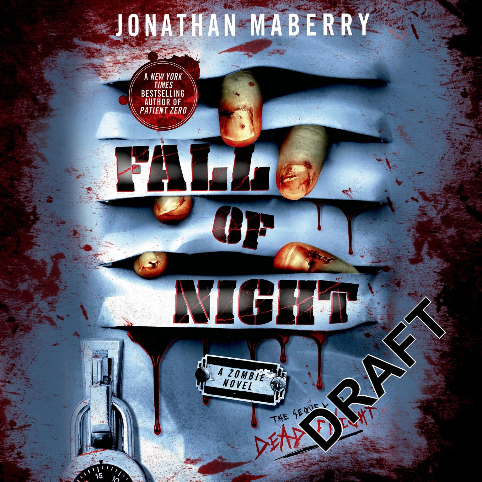 Printable Fall of Night: A Zombie Novel Audiobook Cover Art