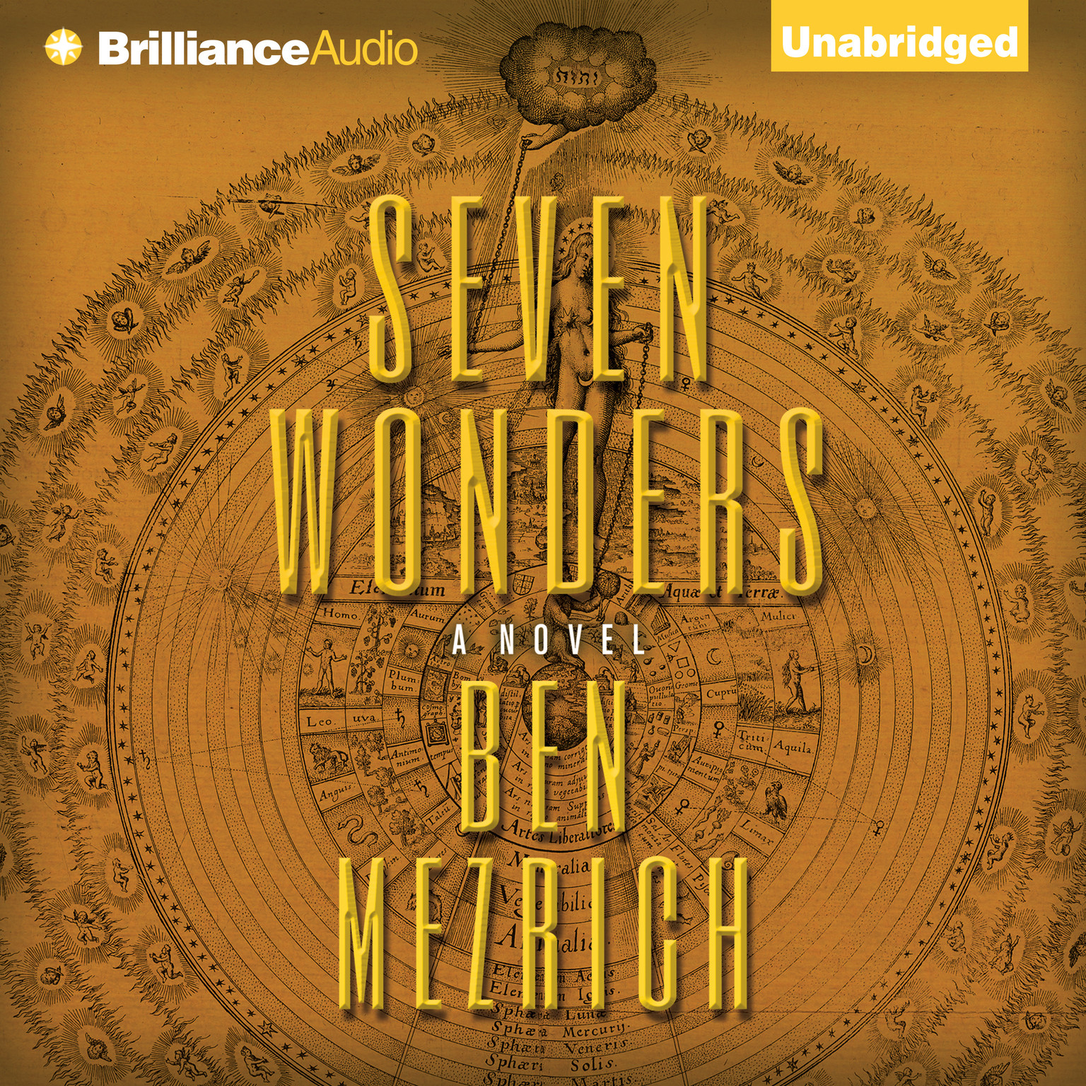 Printable Seven Wonders: A Novel Audiobook Cover Art