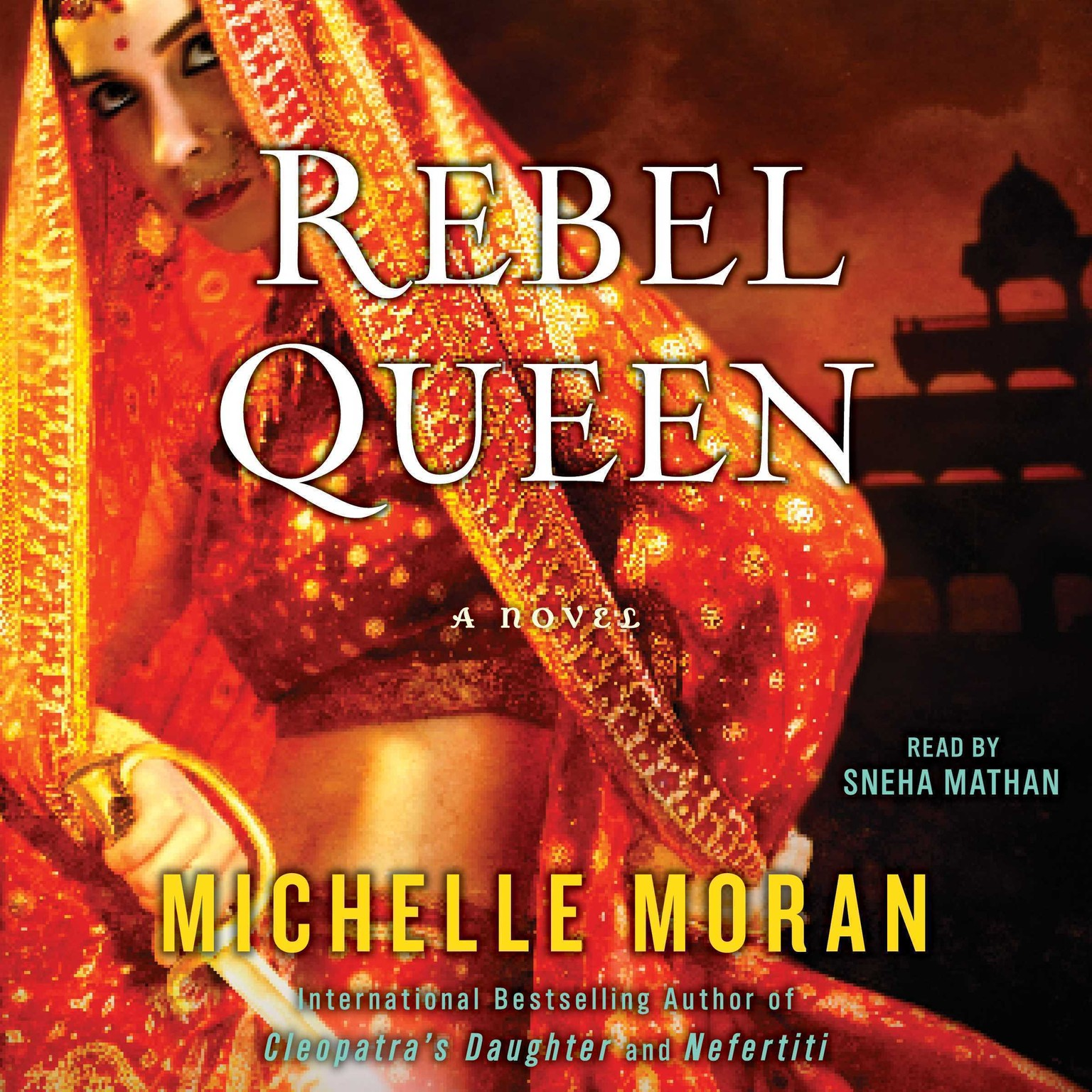 Printable Rebel Queen: A Novel Audiobook Cover Art