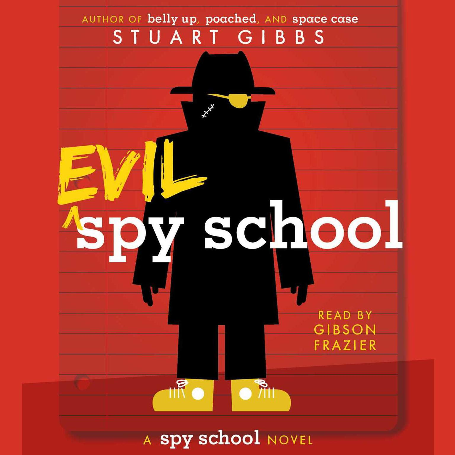 Printable Evil Spy School Audiobook Cover Art