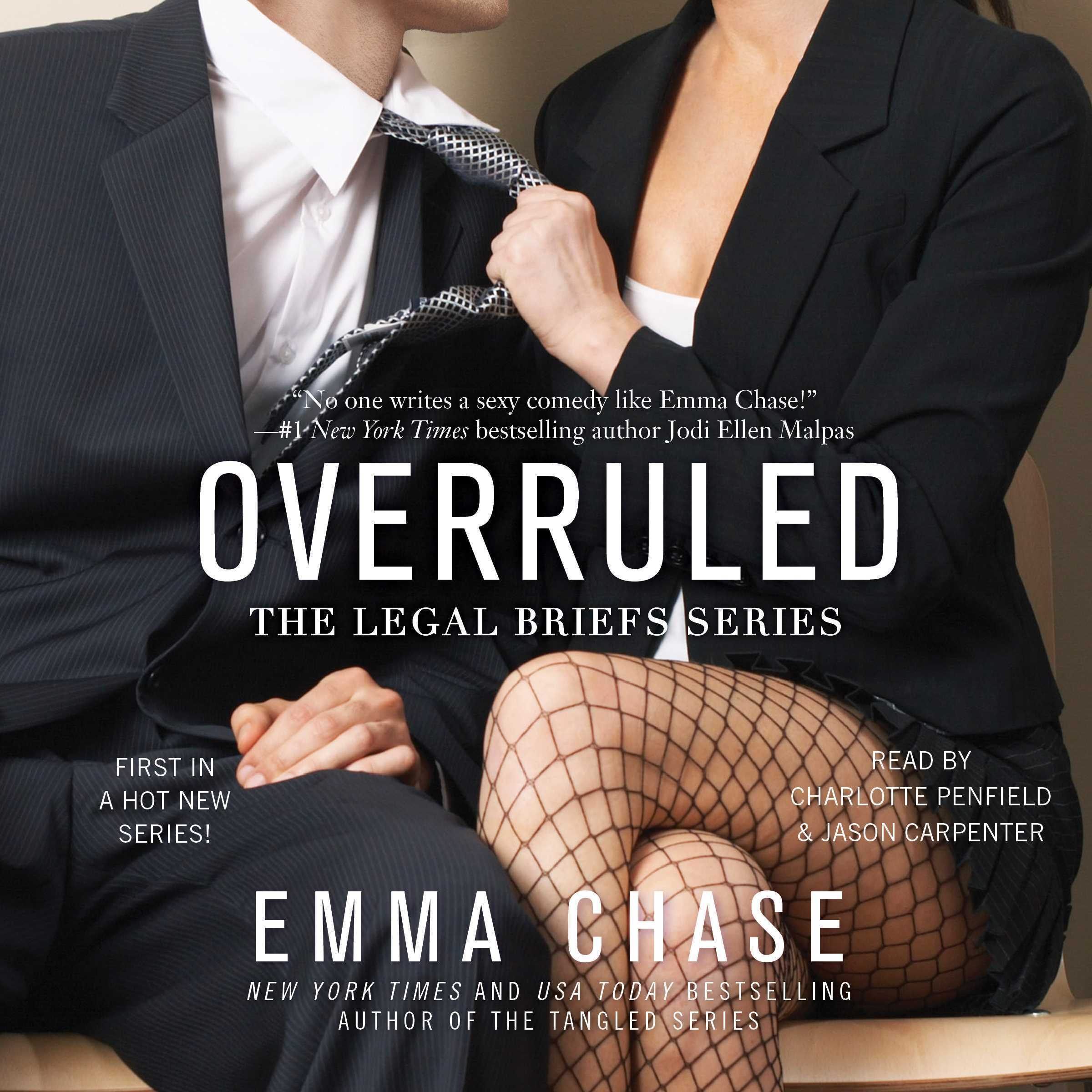 Printable Overruled Audiobook Cover Art