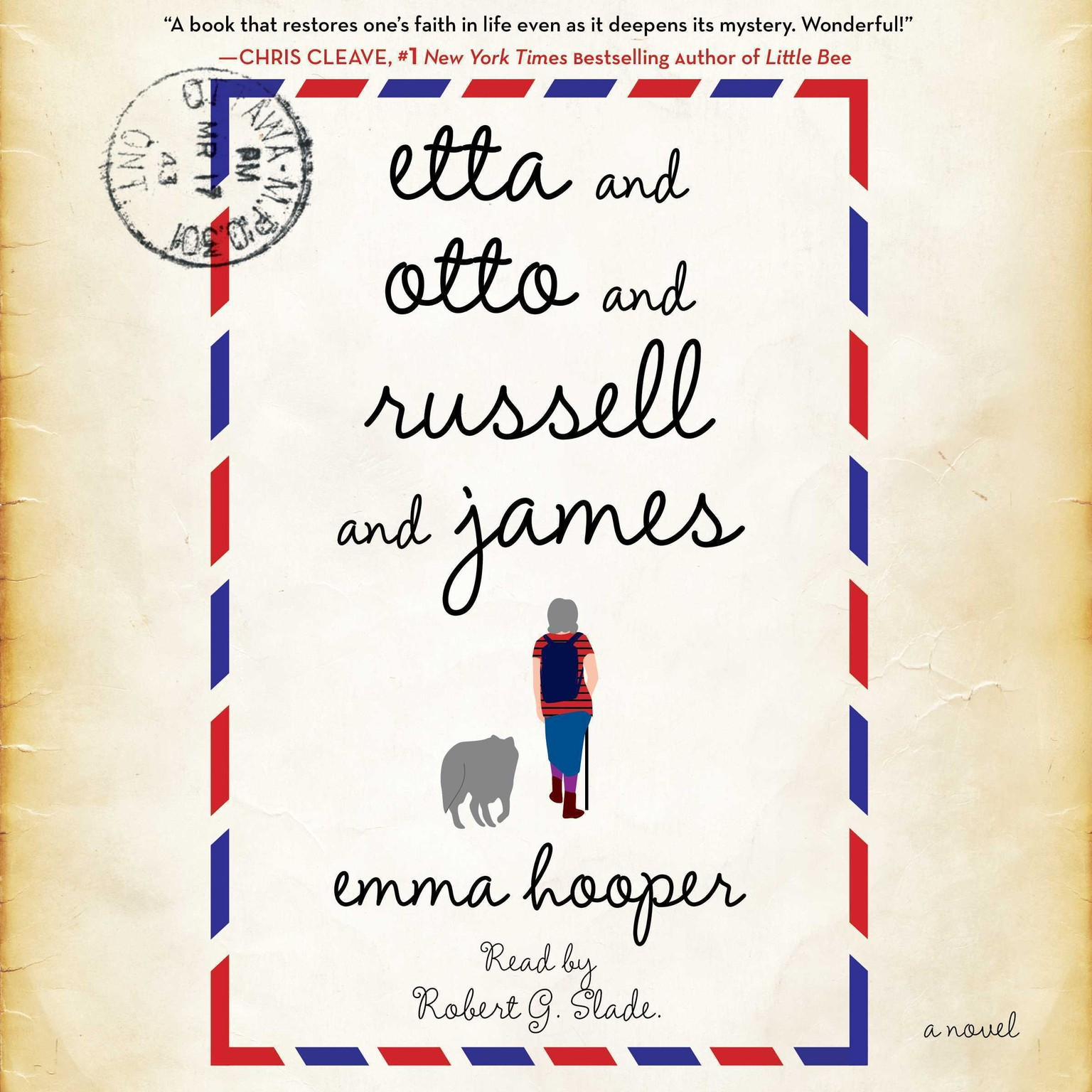 Printable Etta and Otto and Russell and James: A Novel Audiobook Cover Art