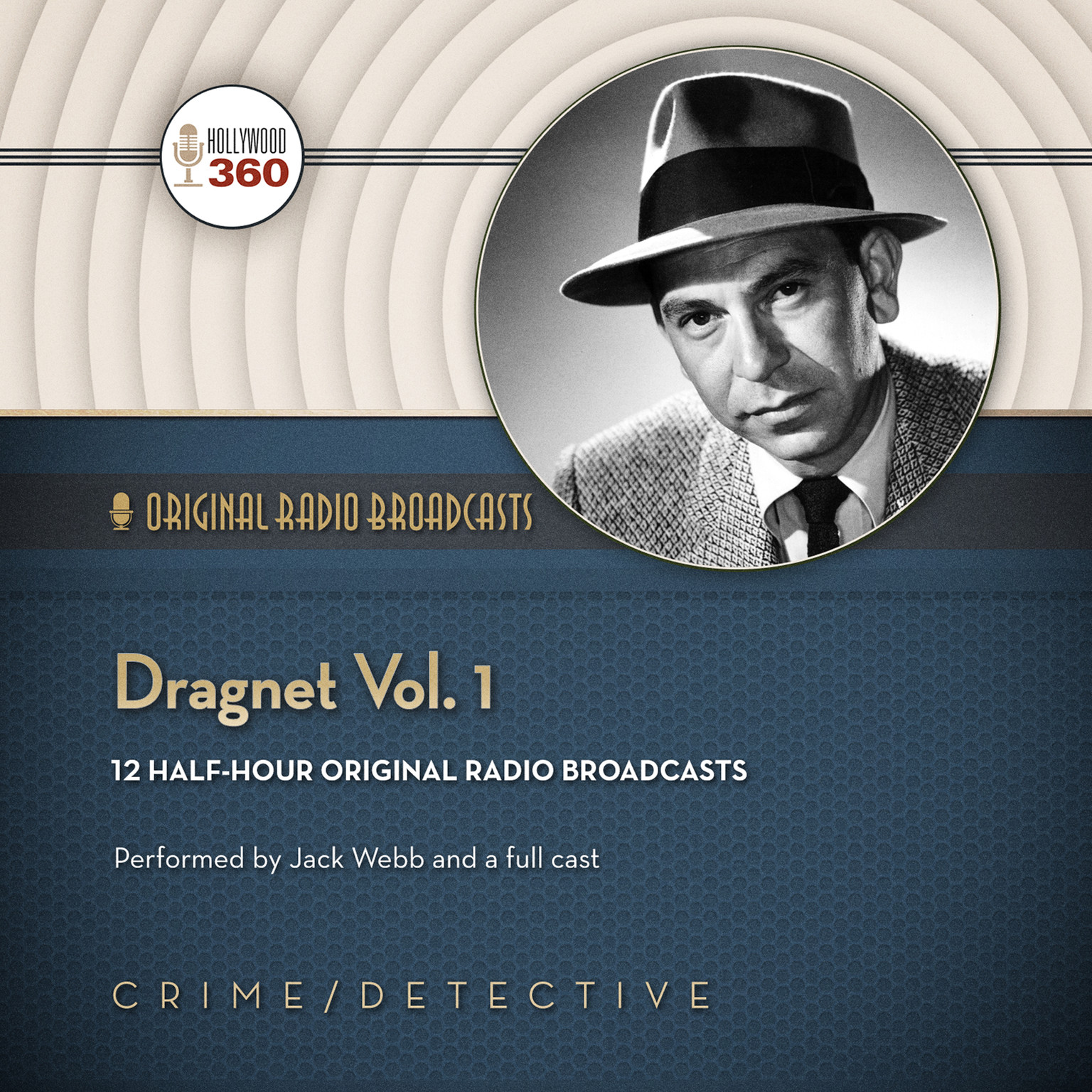 Printable Dragnet, Vol. 1 Audiobook Cover Art