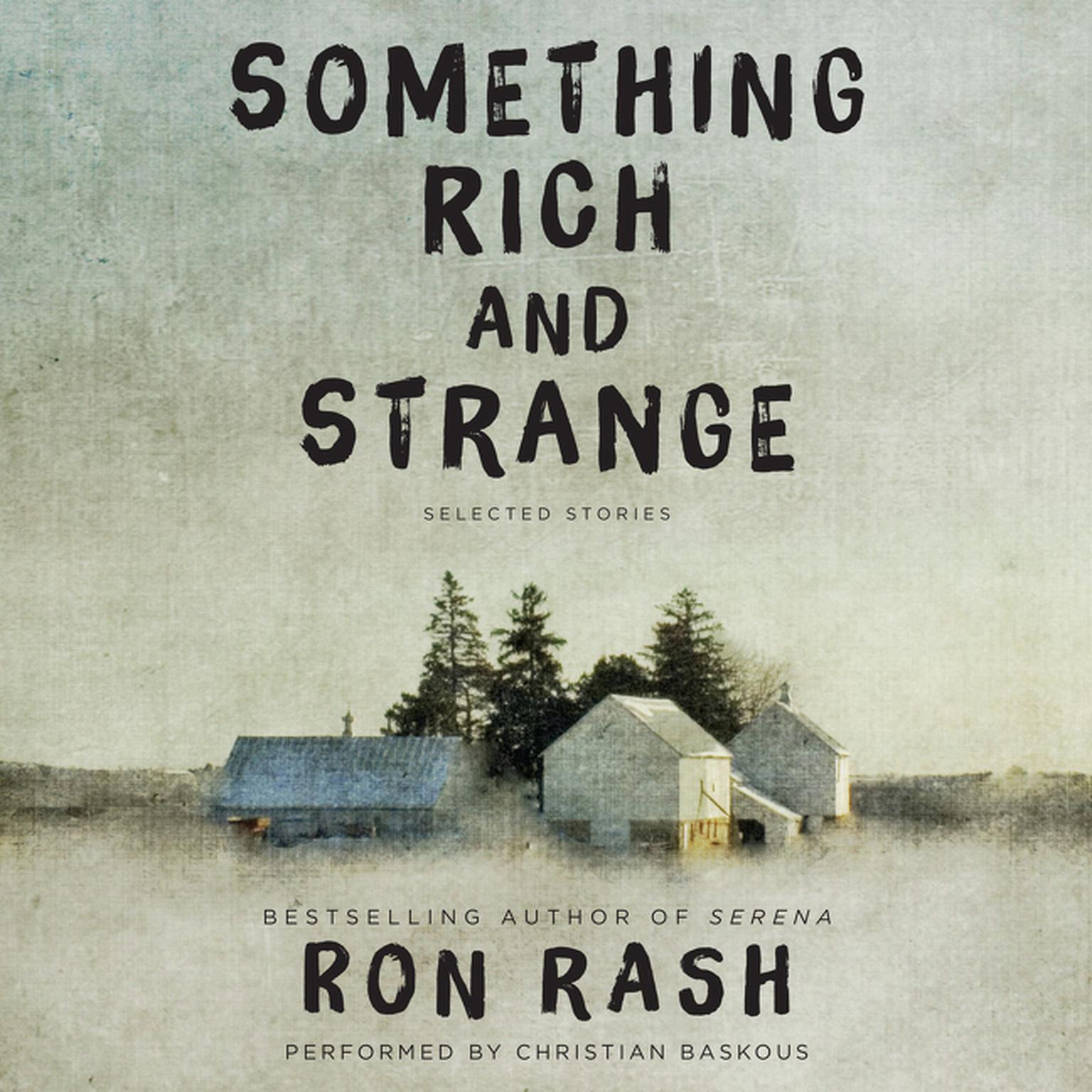 Printable Something Rich and Strange: Selected Stories Audiobook Cover Art