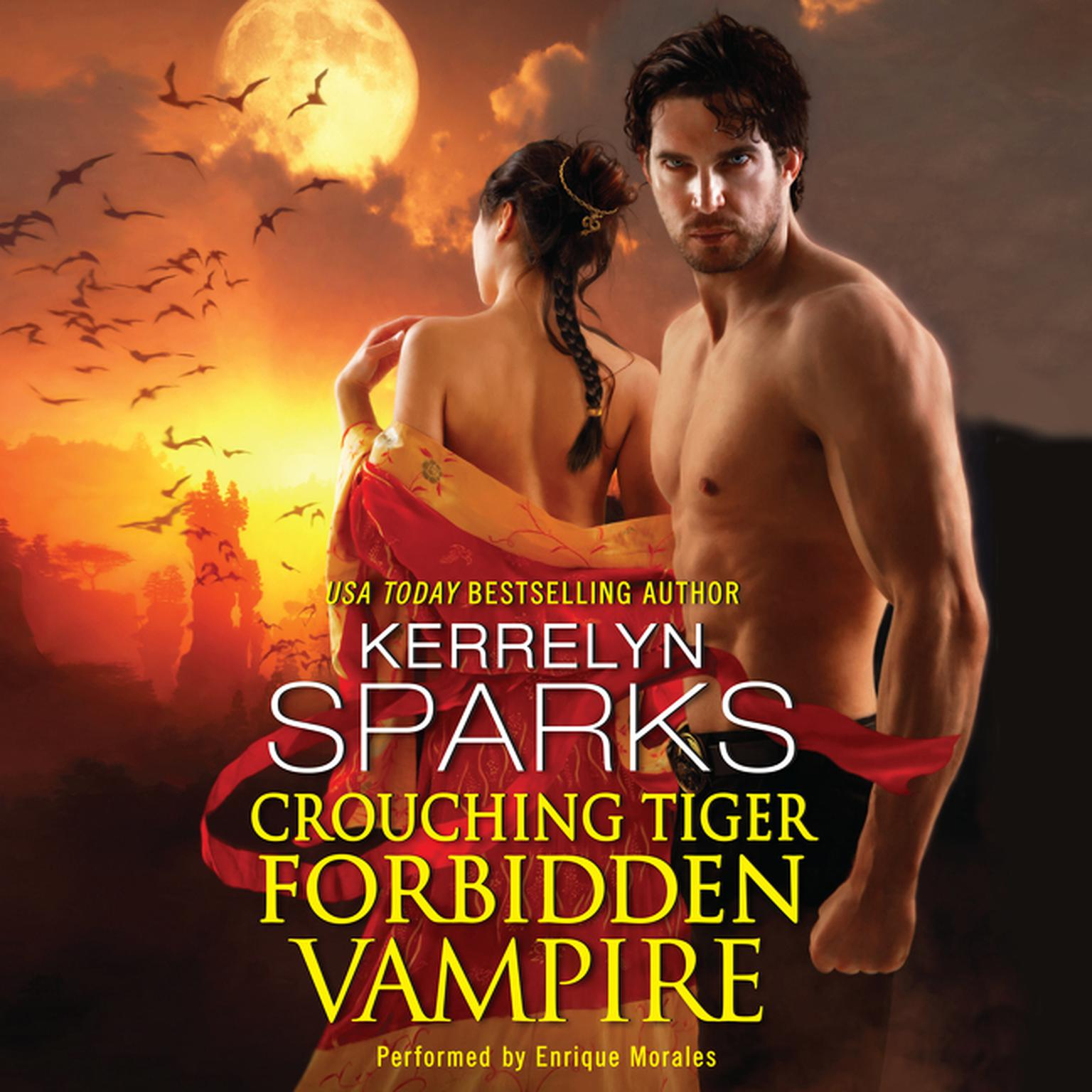 Printable Crouching Tiger, Forbidden Vampire Audiobook Cover Art