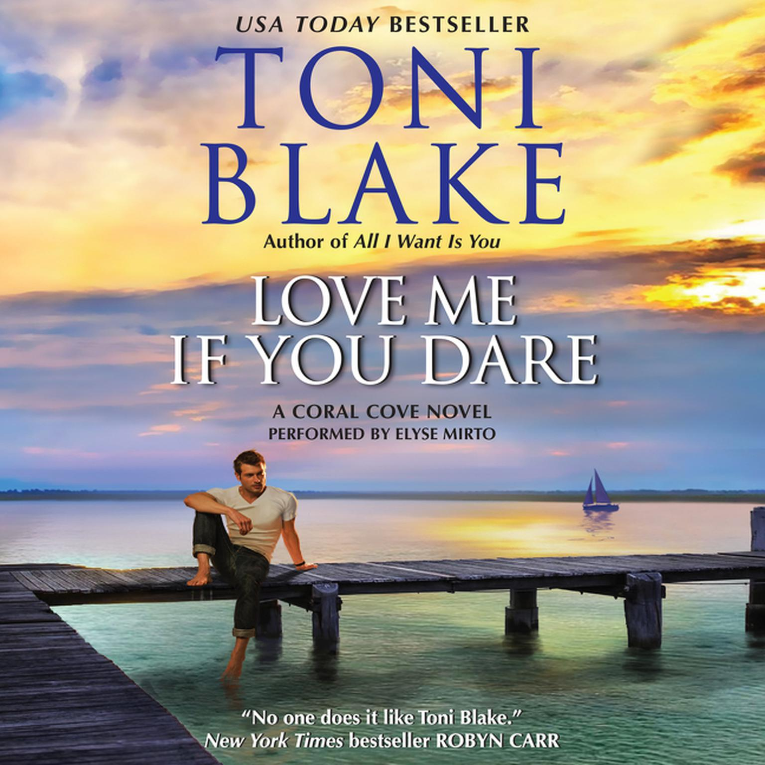 Printable Love Me If You Dare: A Coral Cove Novel Audiobook Cover Art