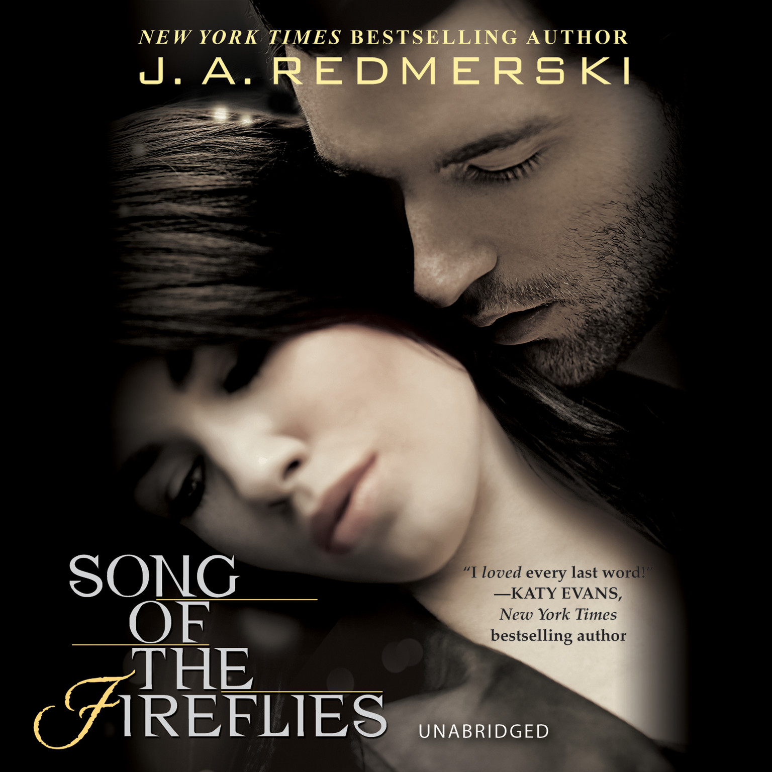 Printable Song of the Fireflies Audiobook Cover Art