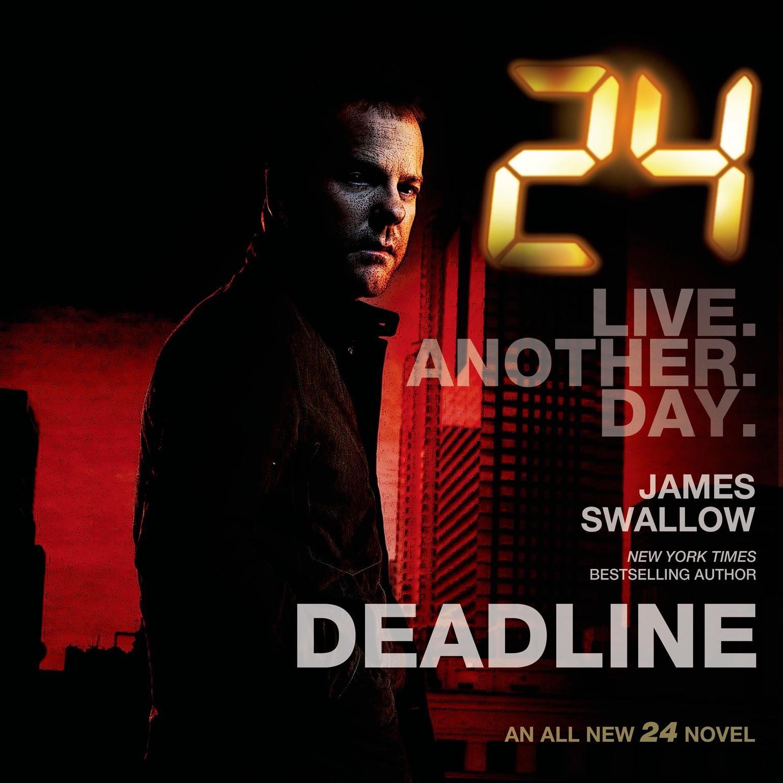 Printable 24: Deadline: A 24 Novel Audiobook Cover Art