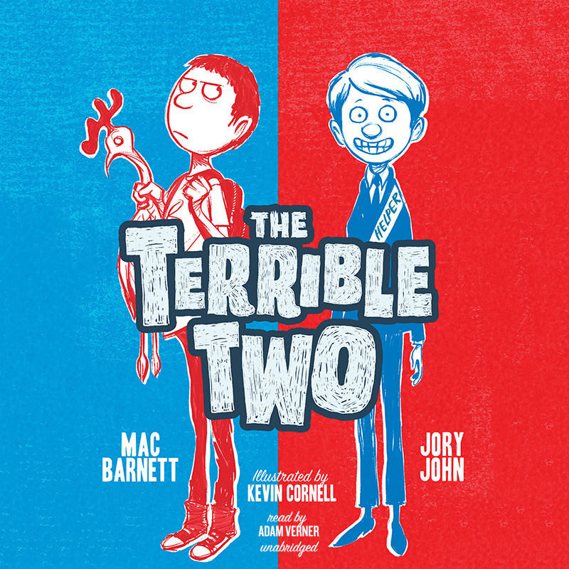 Printable The Terrible Two Audiobook Cover Art
