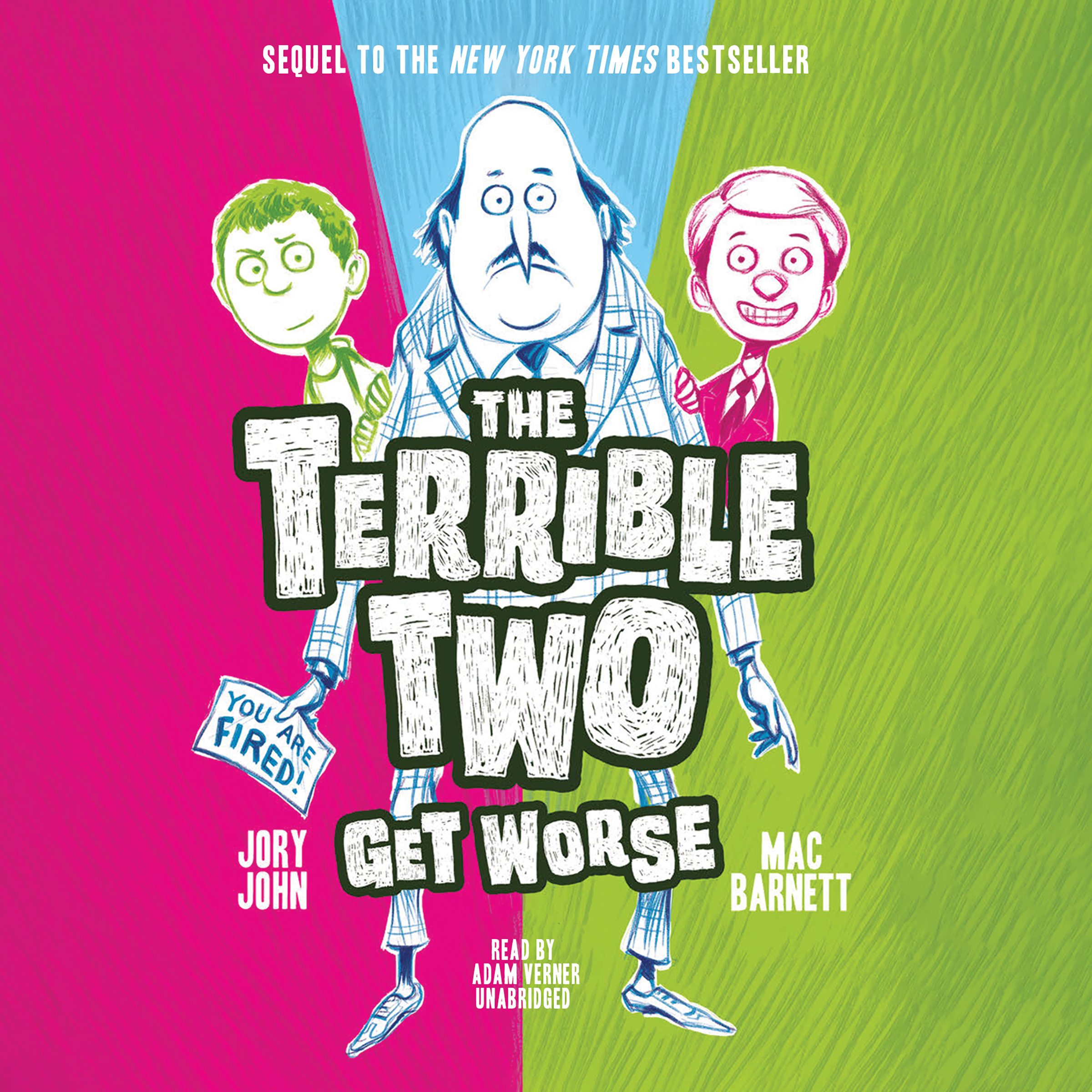Printable The Terrible Two Get Worse Audiobook Cover Art