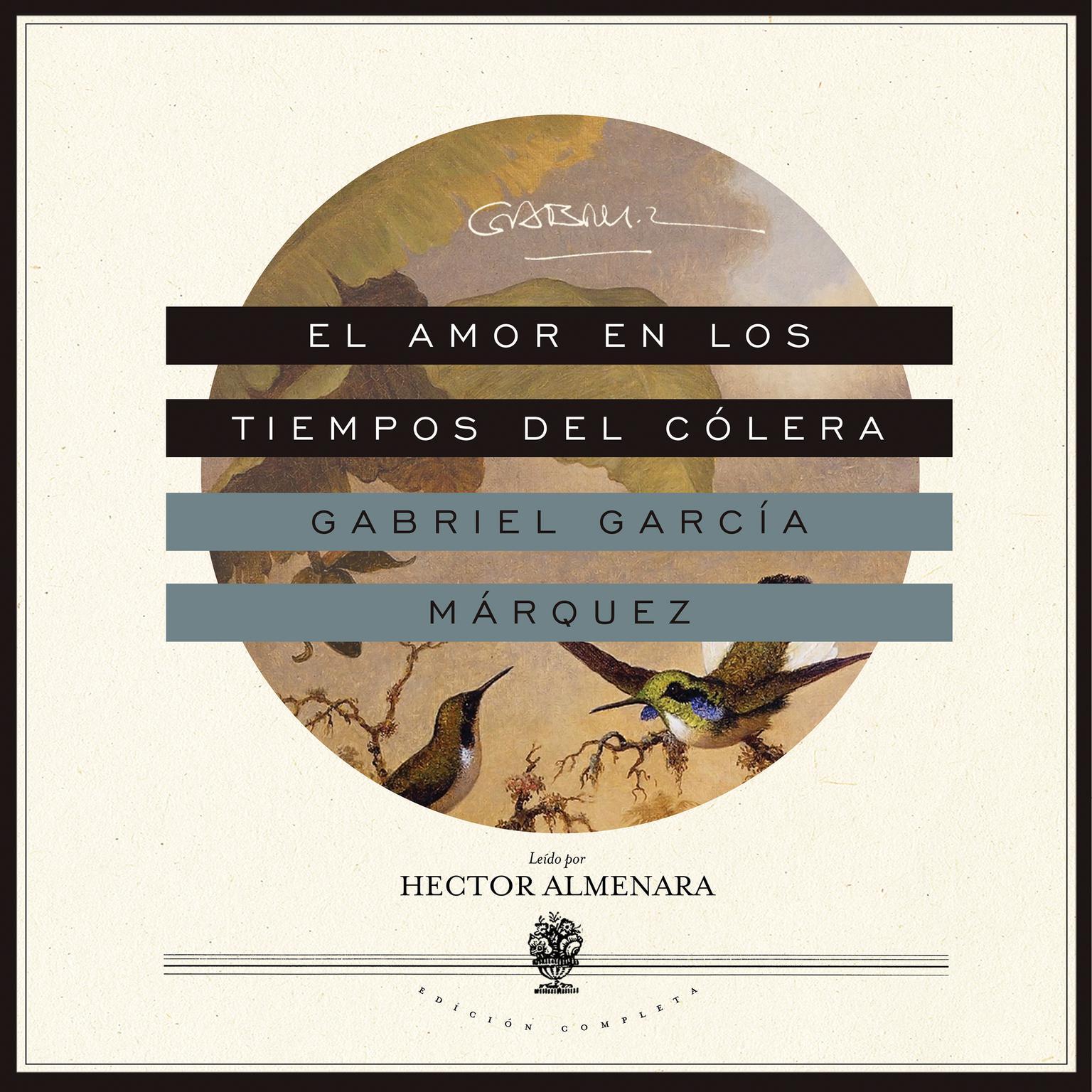 Printable El amor en los tiempos del cólera Audiobook Cover Art