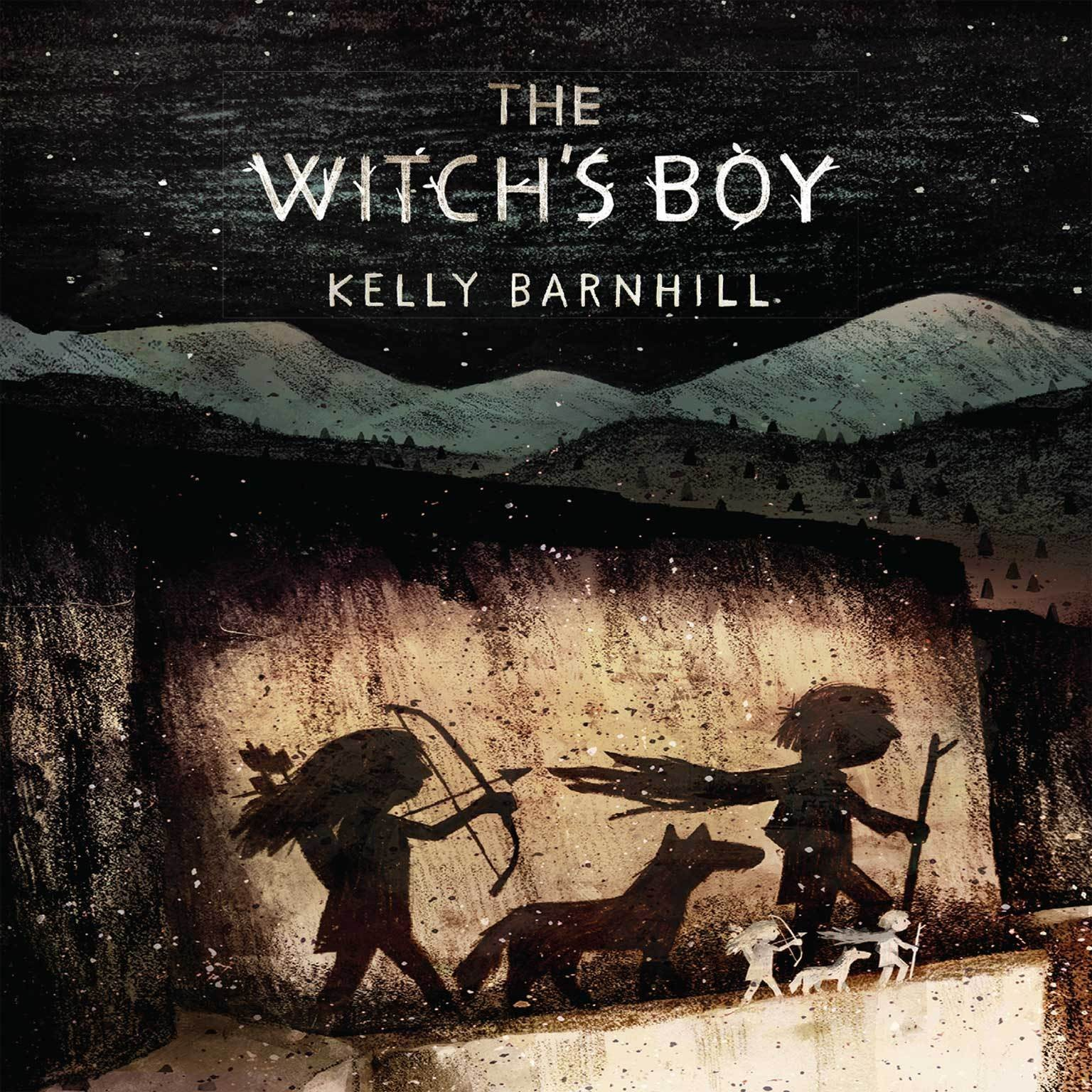 Printable The Witch's Boy Audiobook Cover Art