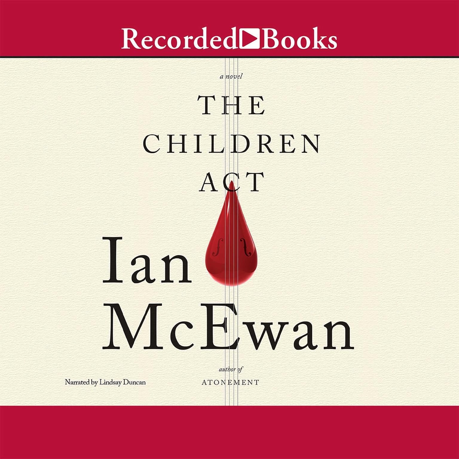 Printable The Children Act Audiobook Cover Art