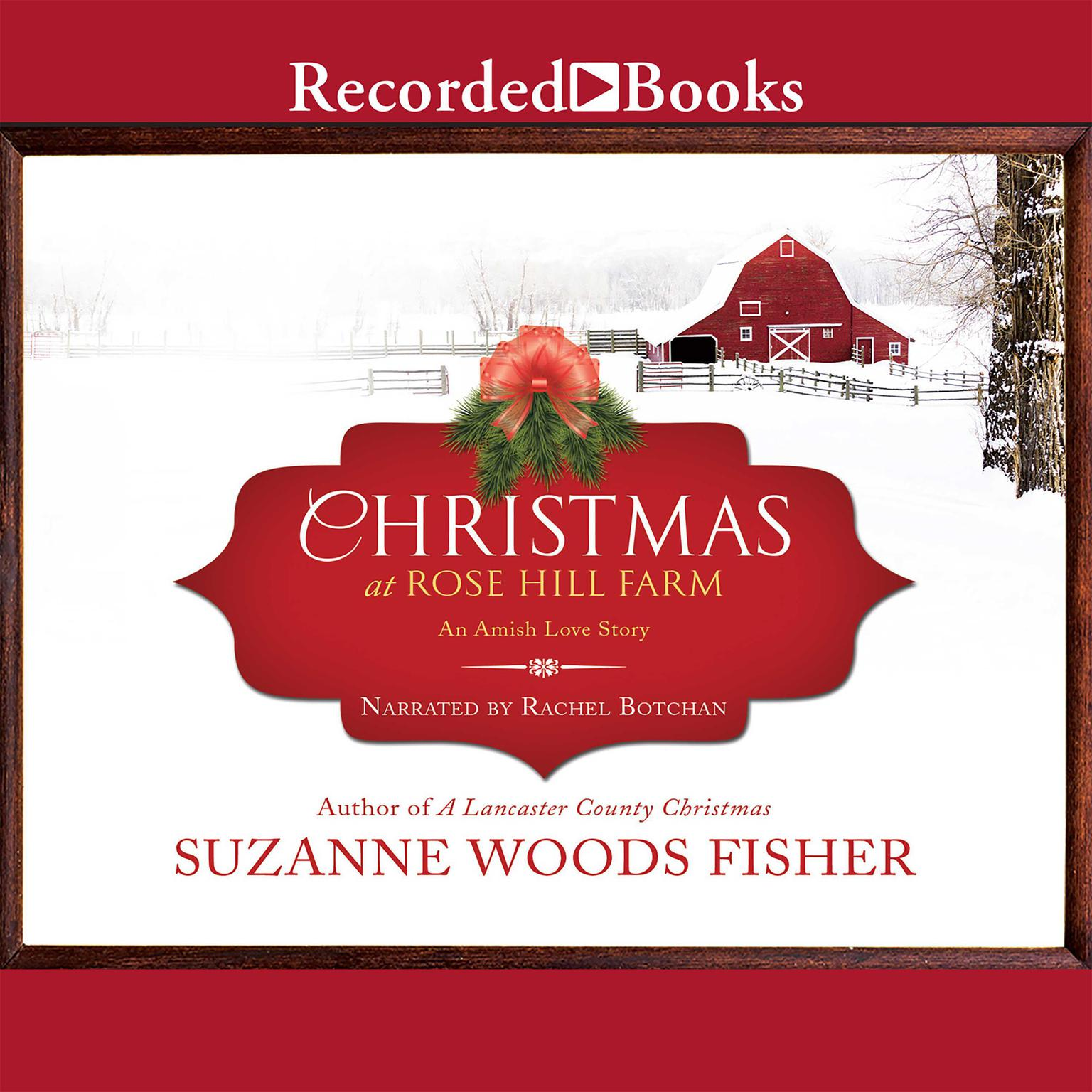 Printable Christmas at Rose Hill Farm Audiobook Cover Art