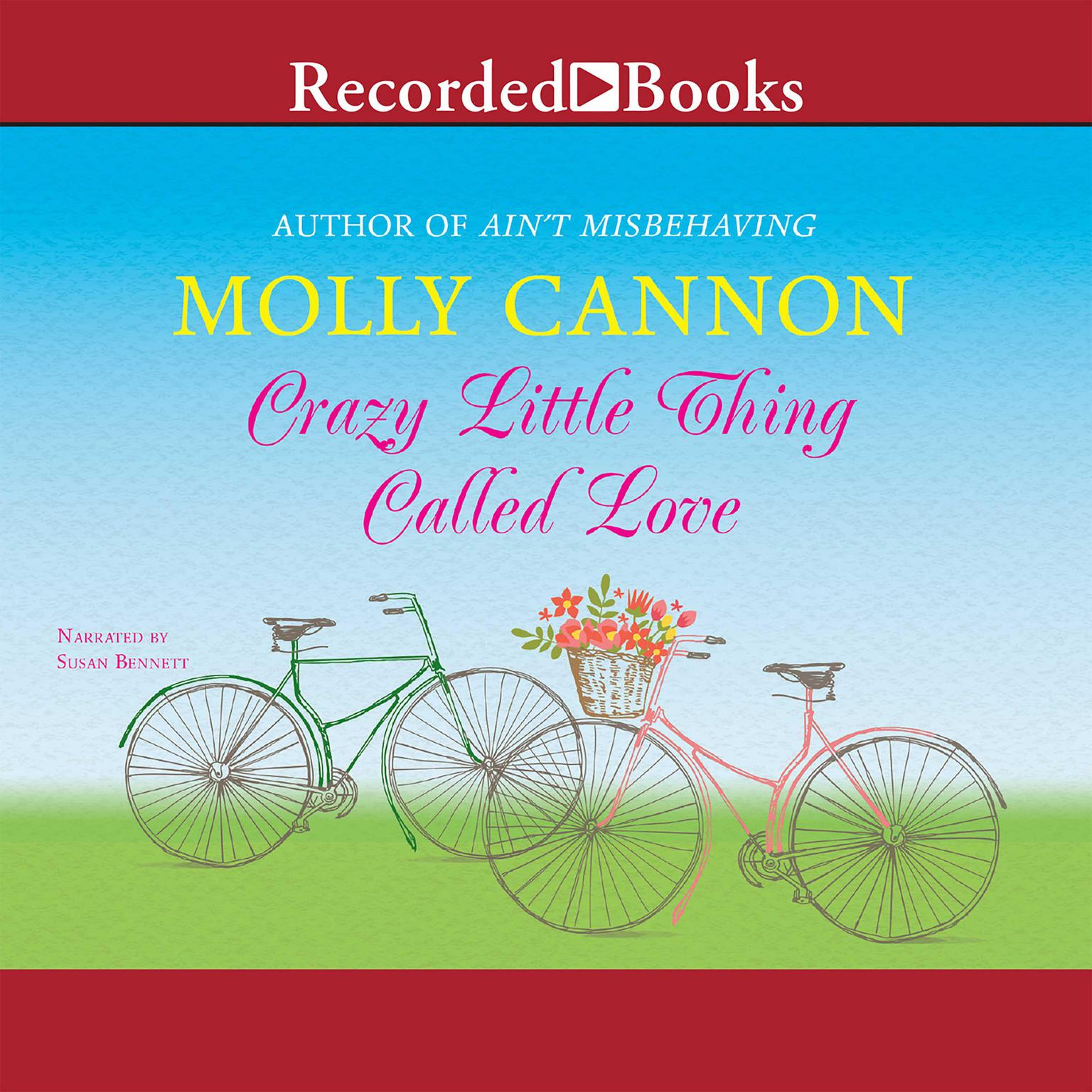Printable Crazy Little Thing Called Love Audiobook Cover Art