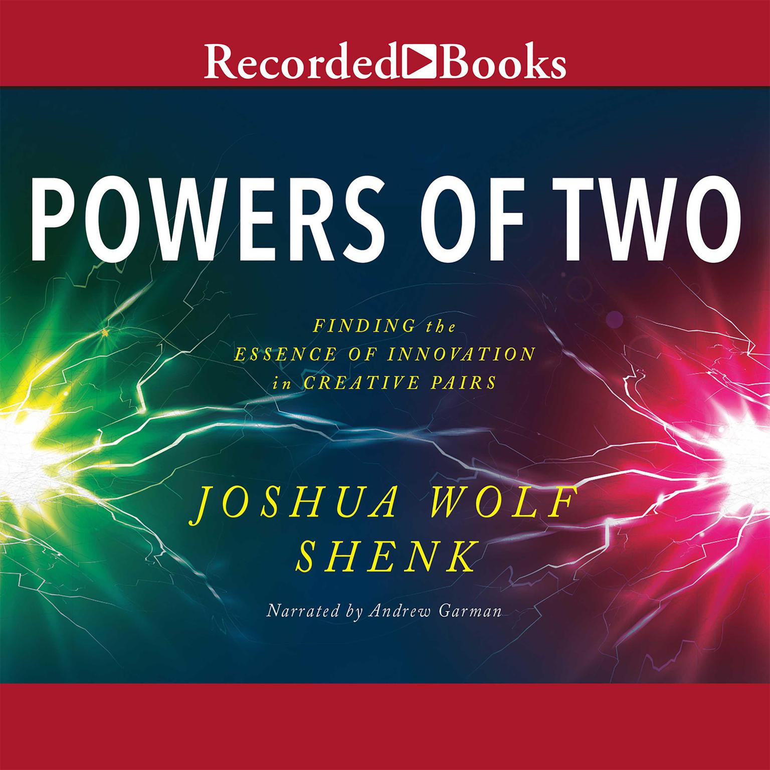 Printable Powers of Two: Finding the Essence of Innovation in Creative Pairs Audiobook Cover Art