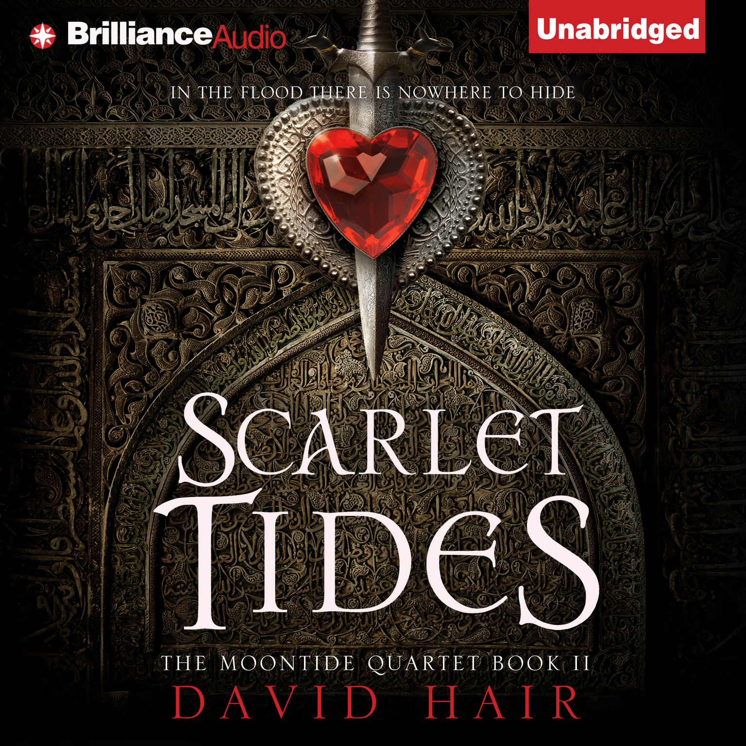 Printable Scarlet Tides Audiobook Cover Art