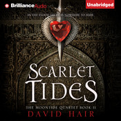 Scarlet Tides Audiobook, by David Hair