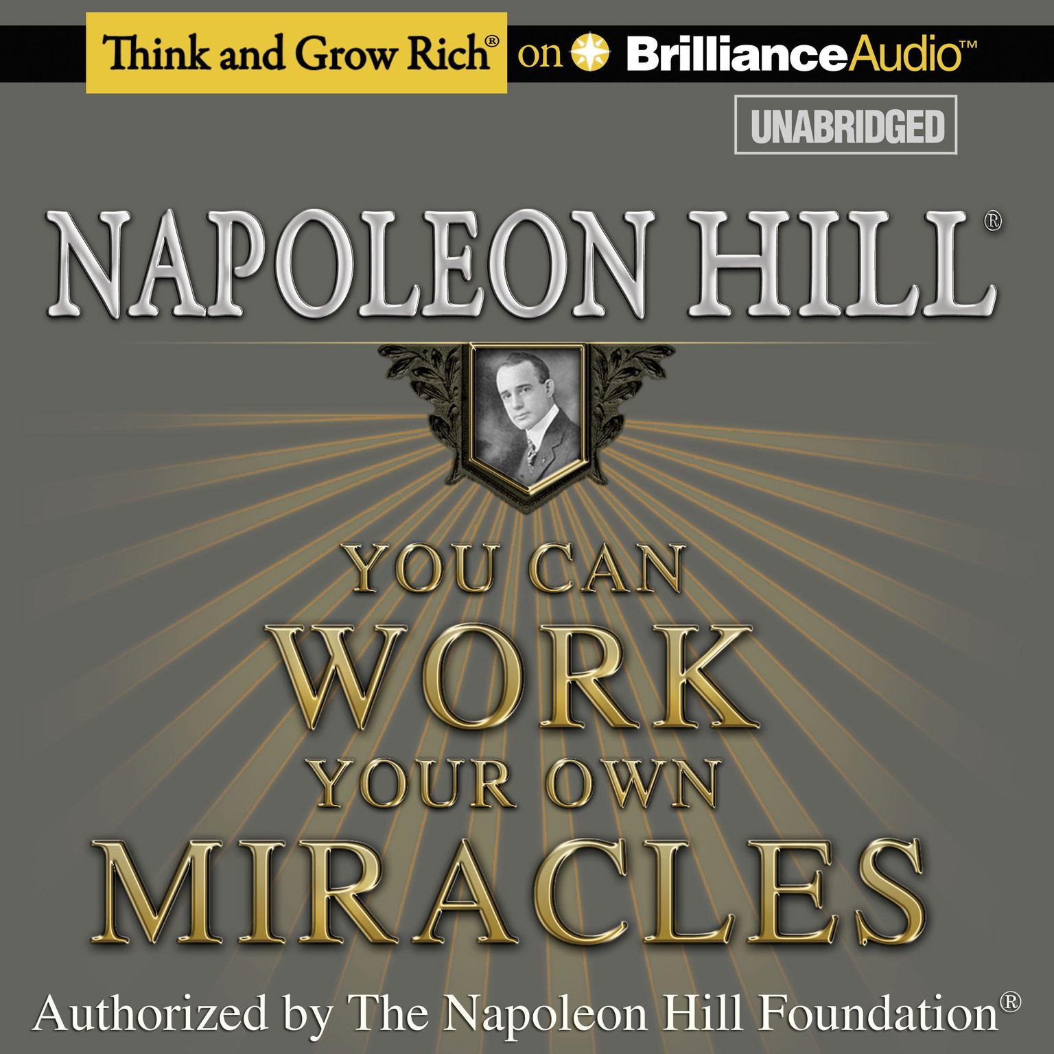 Printable You Can Work Your Own Miracles Audiobook Cover Art