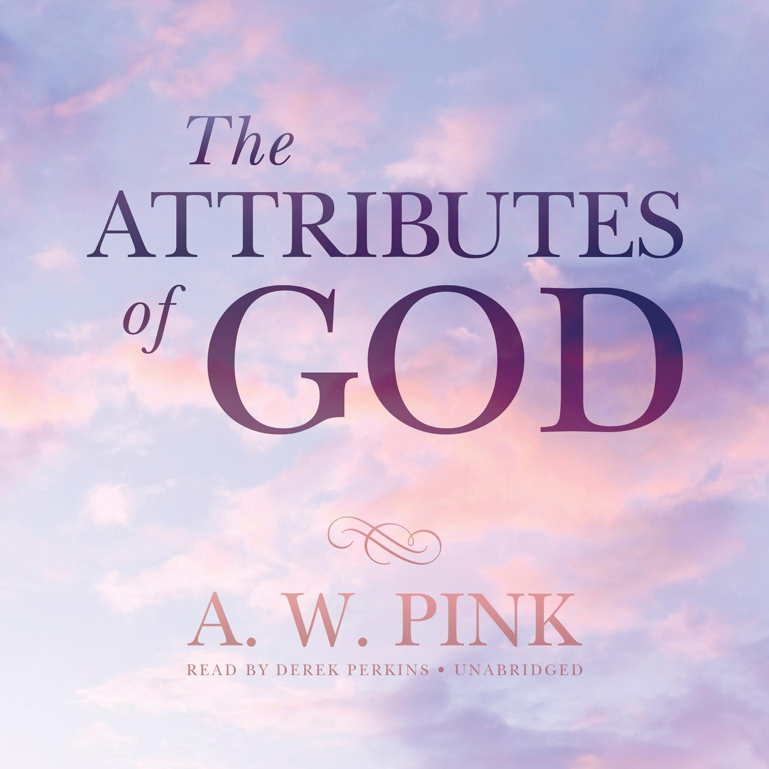 Printable The Attributes of God Audiobook Cover Art