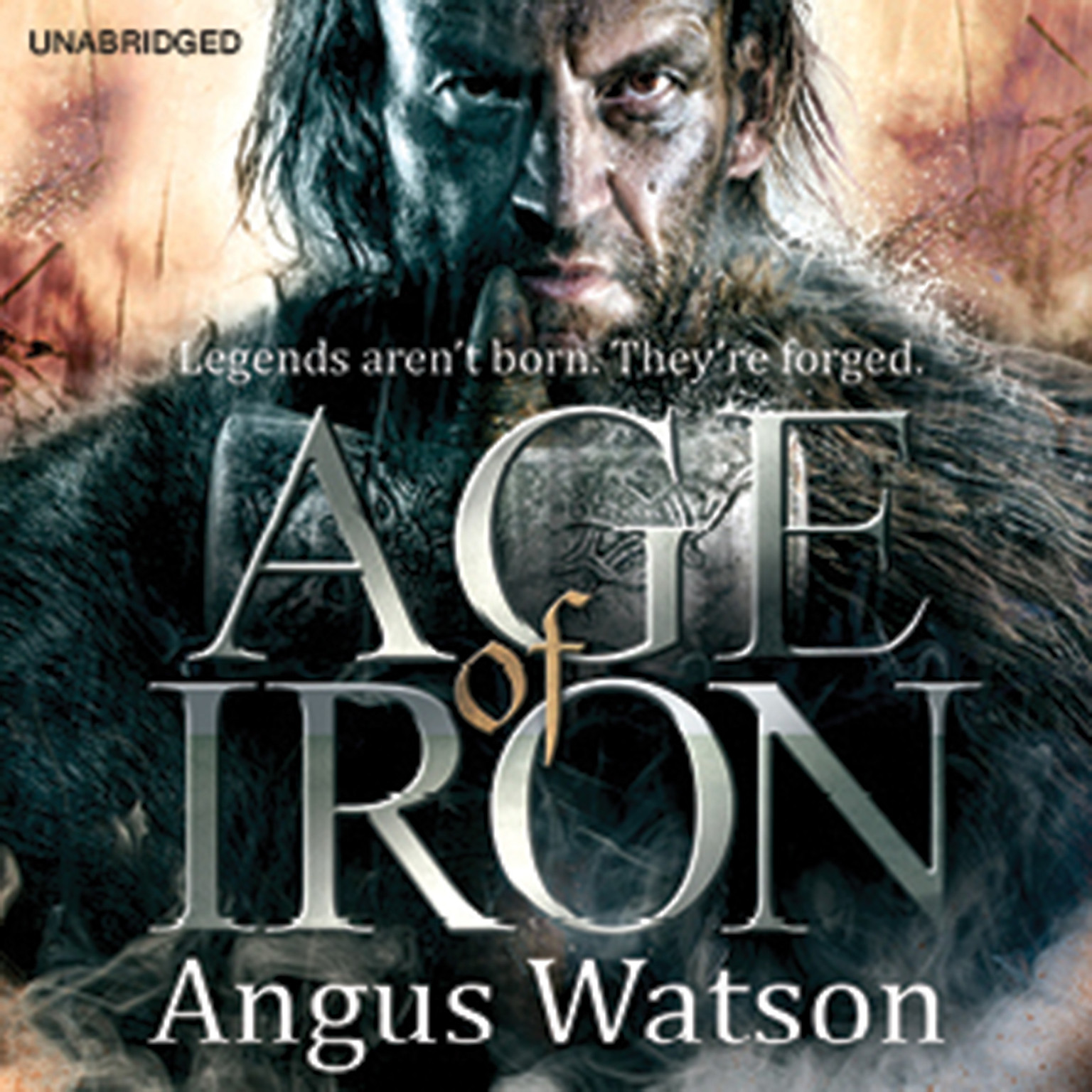 Printable Age of Iron Audiobook Cover Art