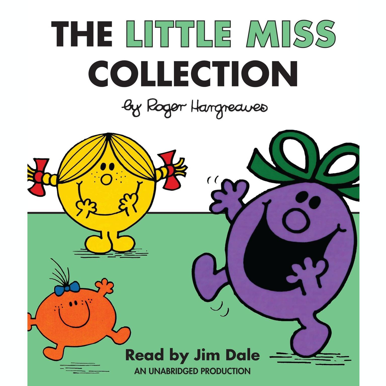 Printable The Little Miss Collection: Little Miss Sunshine; Little Miss Bossy; Little Miss Naughty; Little Miss Helpful; Little Miss Curious; Little Miss Birthday; and 4 more Audiobook Cover Art