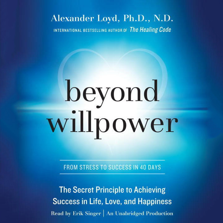 Printable Beyond Willpower: From Stress to Success in 40 days Audiobook Cover Art