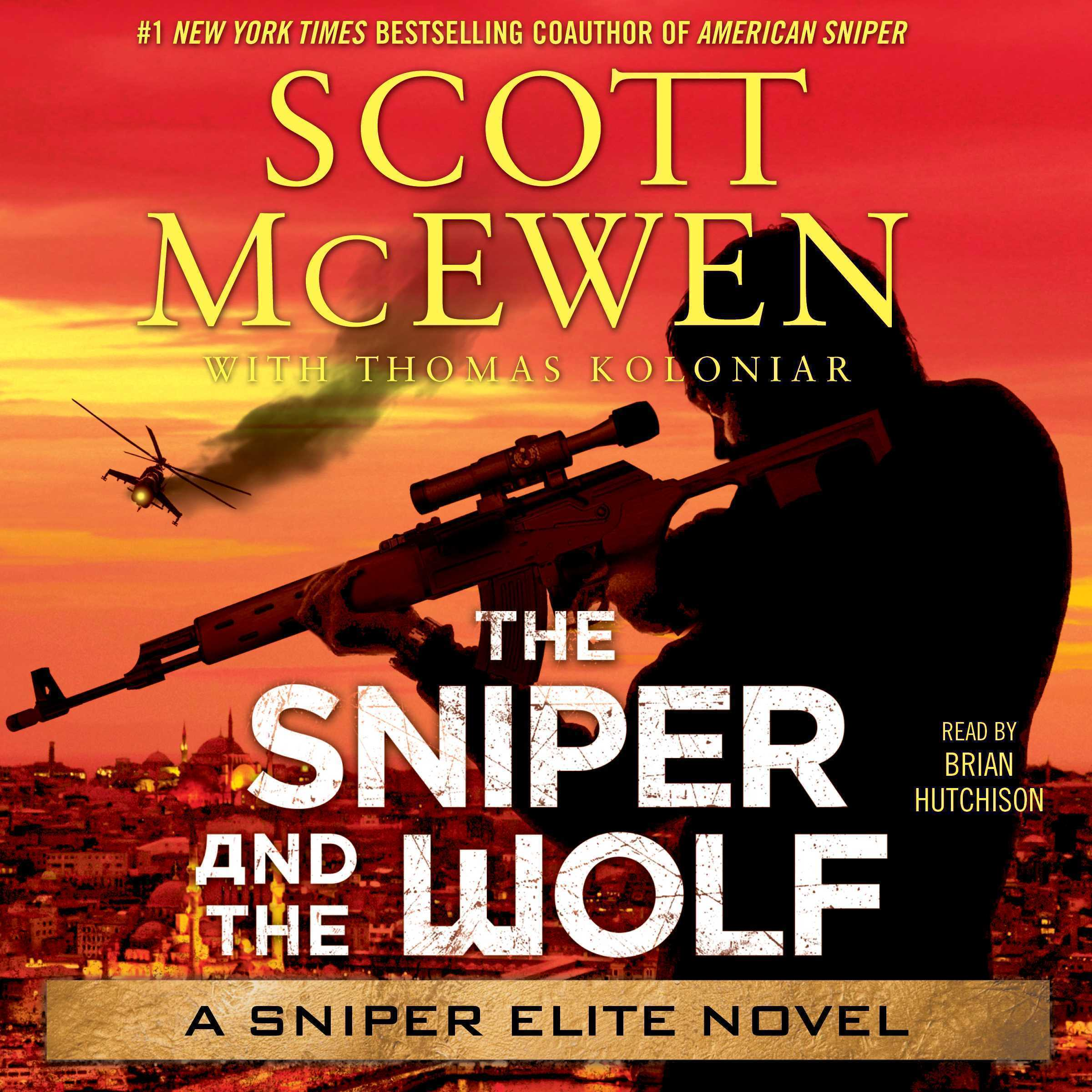 Printable The Sniper and the Wolf: A Sniper Elite Novel Audiobook Cover Art