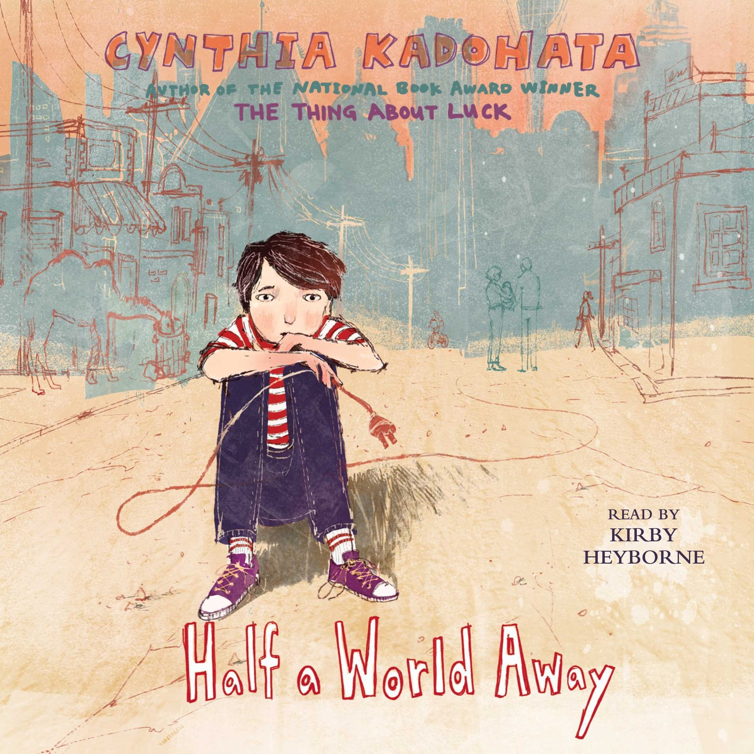 Printable Half a World Away Audiobook Cover Art