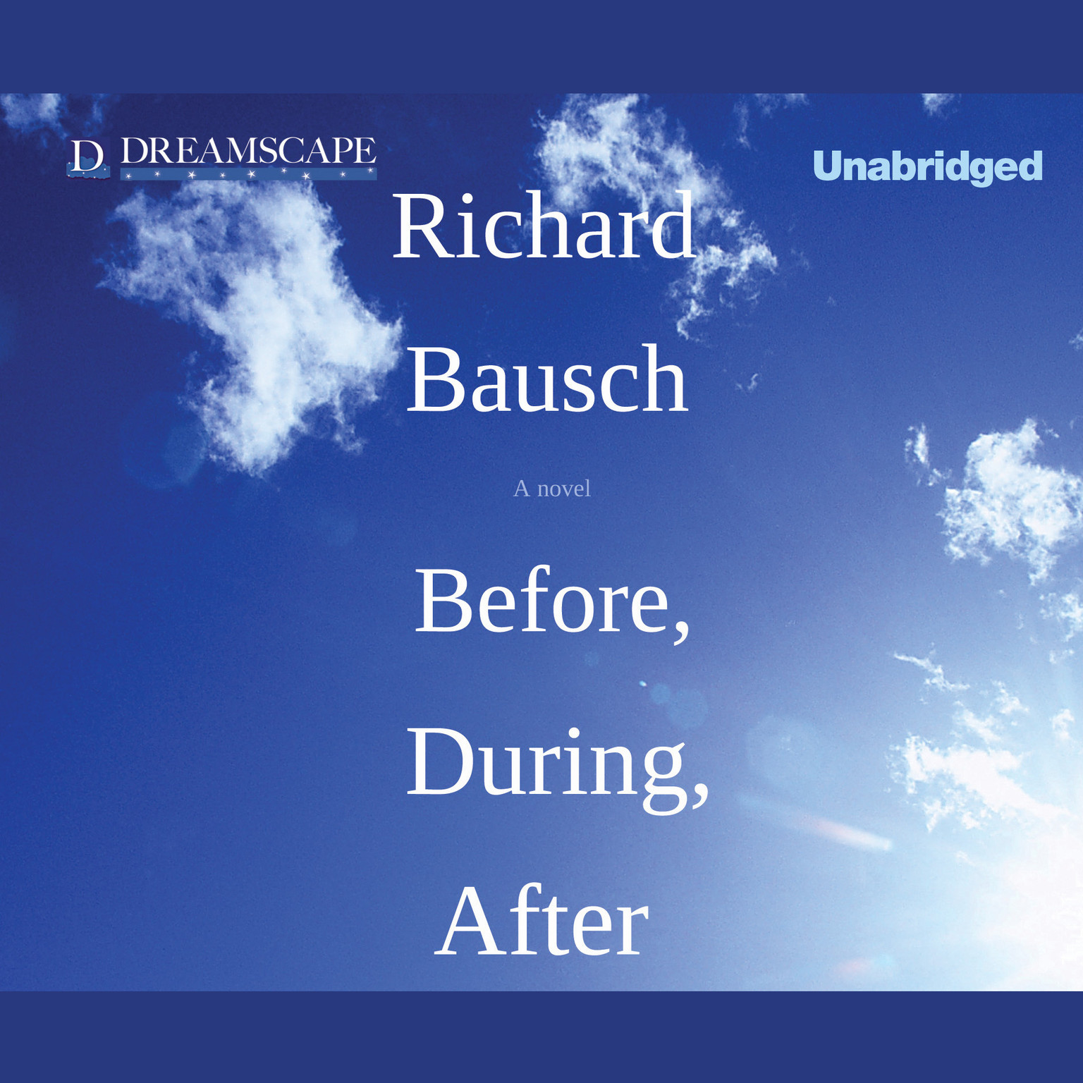 Printable Before, During, After Audiobook Cover Art