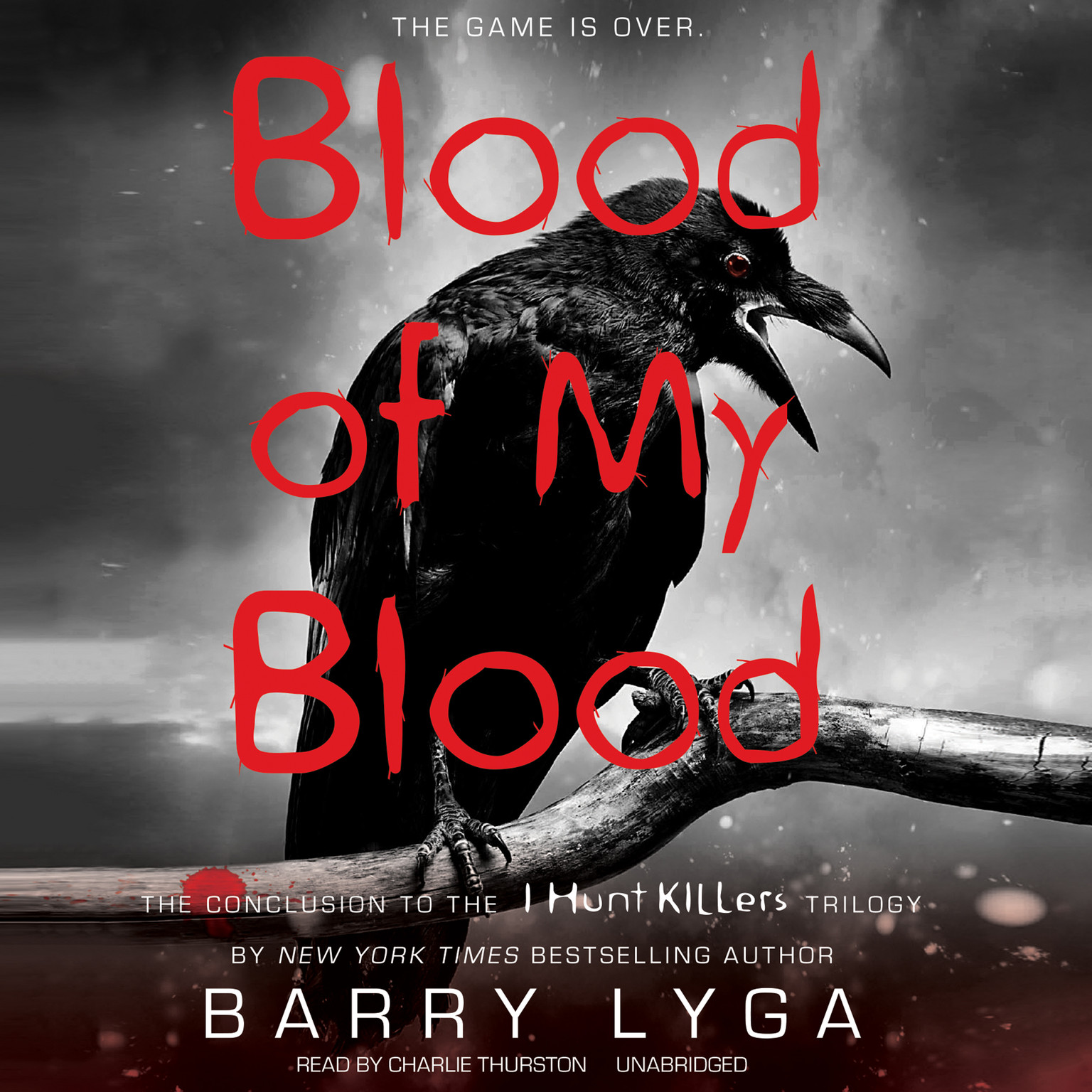 Printable Blood of My Blood Audiobook Cover Art