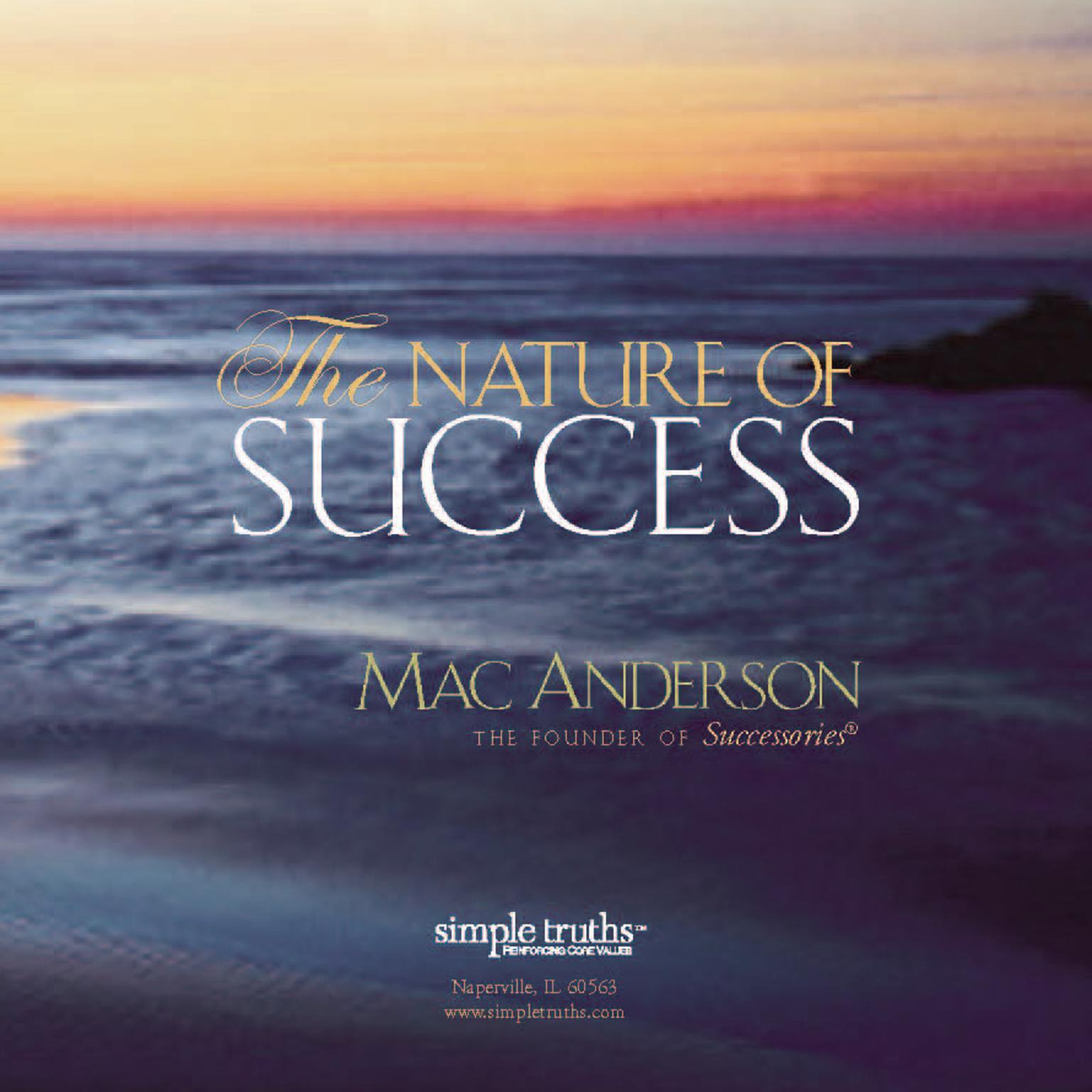 Printable Nature Success Audiobook Cover Art