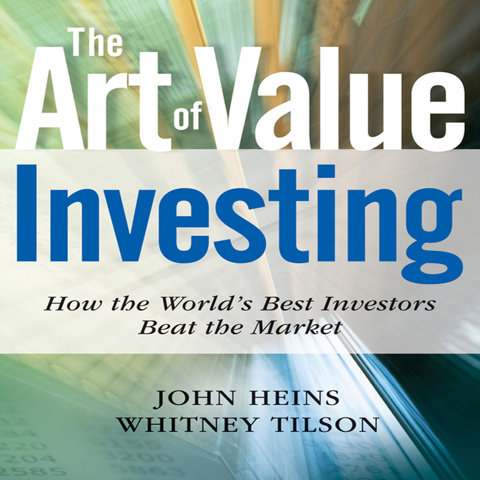 Printable The Art Value Investing: Essential Strategies for Market-Beating Returns Audiobook Cover Art