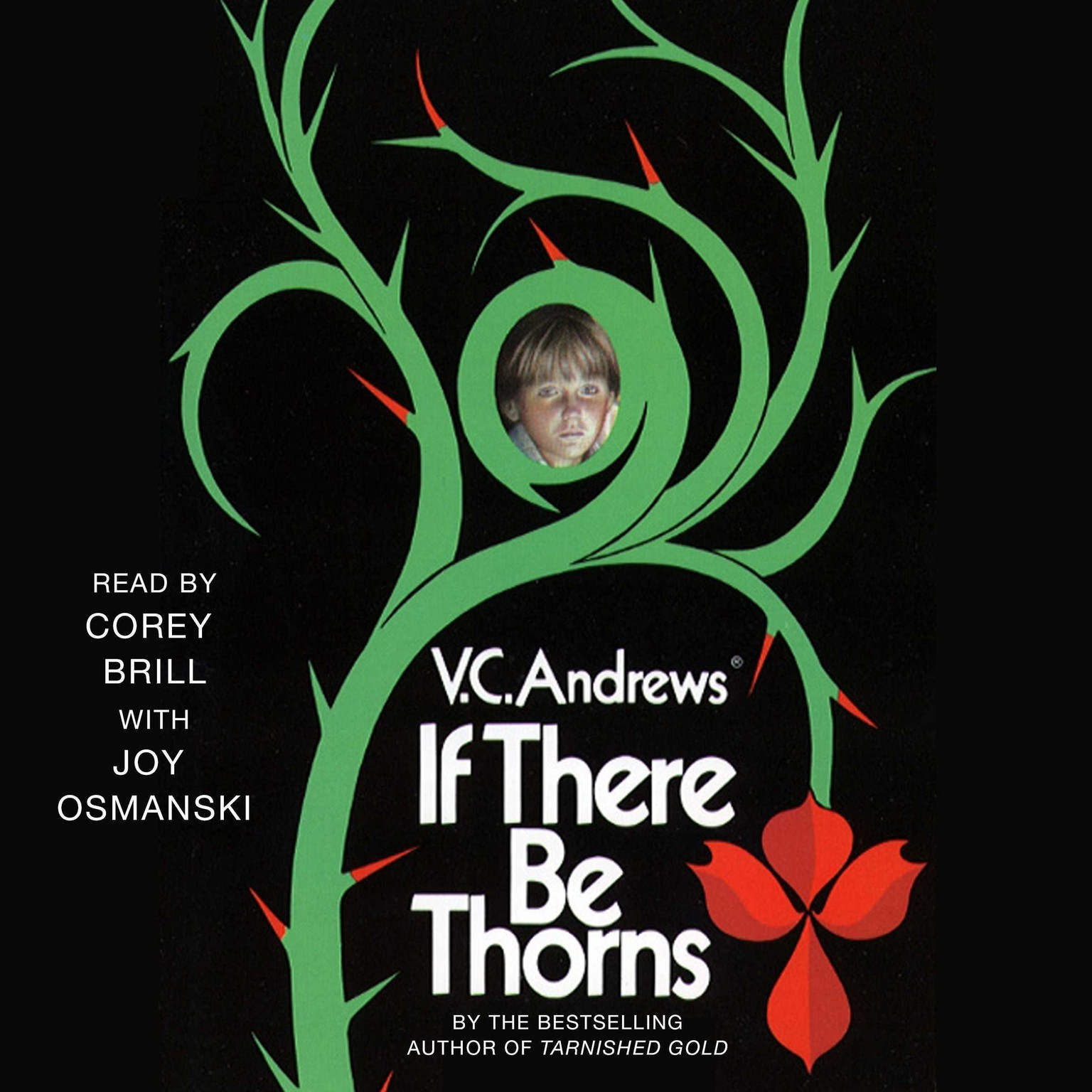 Printable If There Be Thorns Audiobook Cover Art