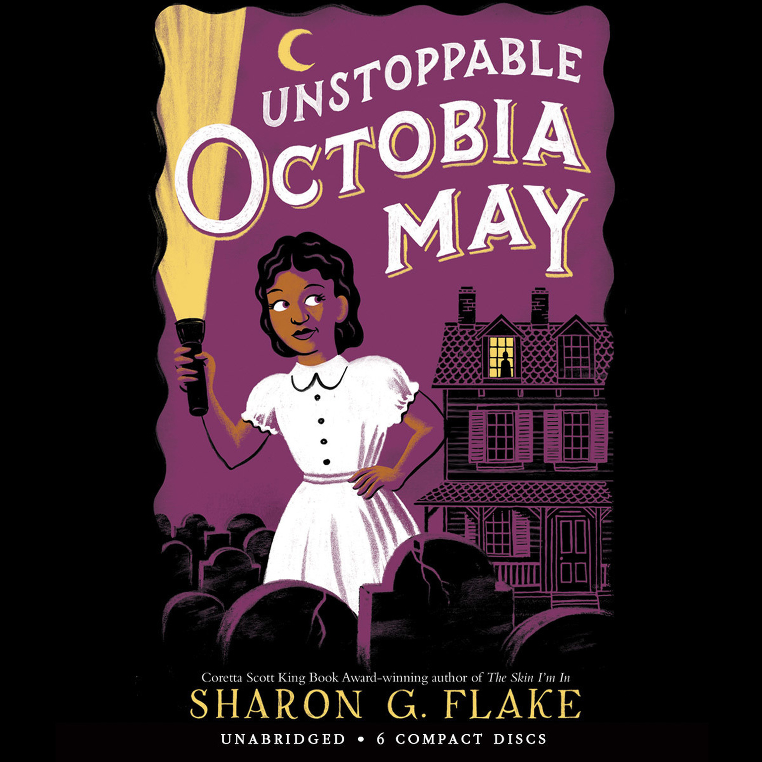 Printable Unstoppable Octobia May Audiobook Cover Art