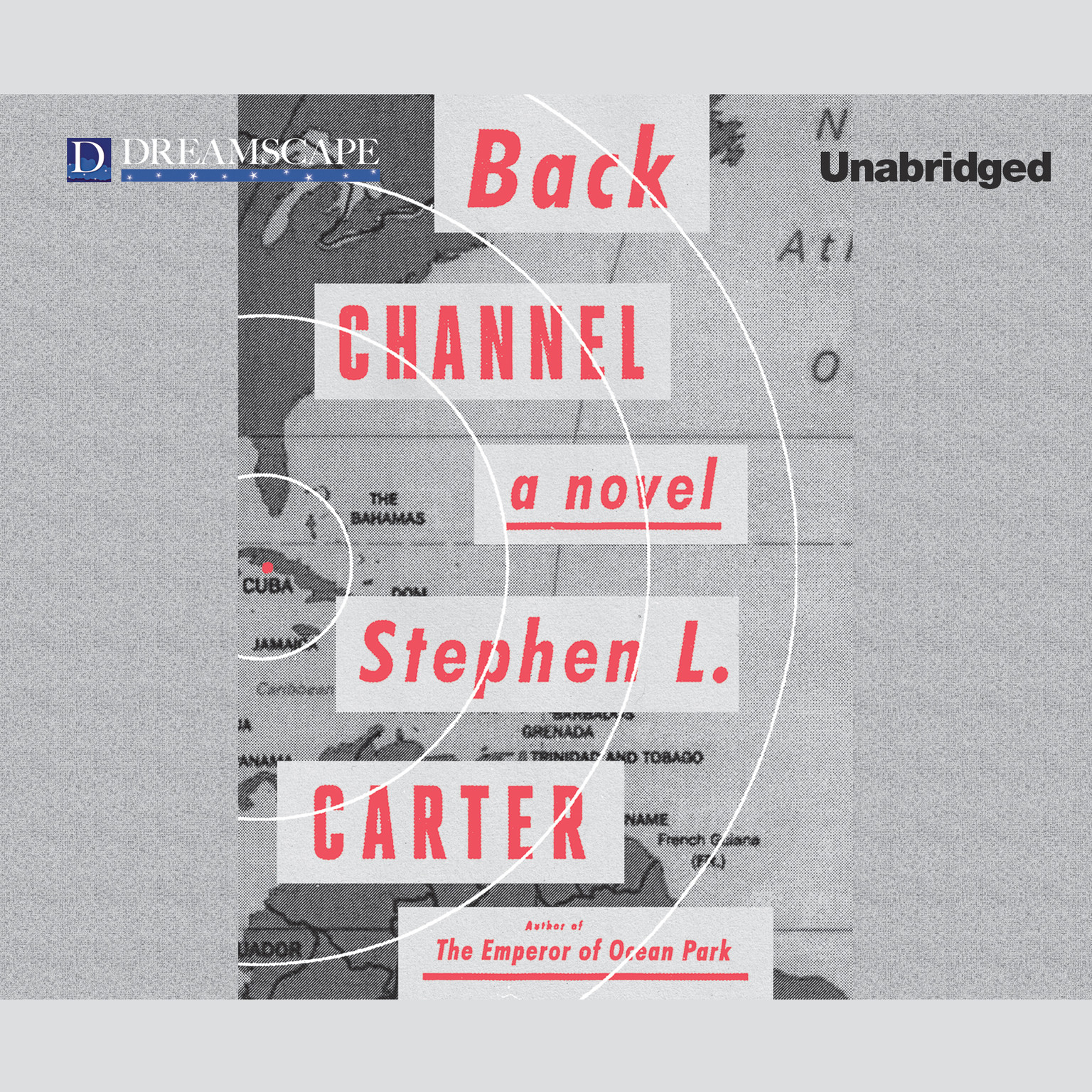 Printable Back Channel Audiobook Cover Art