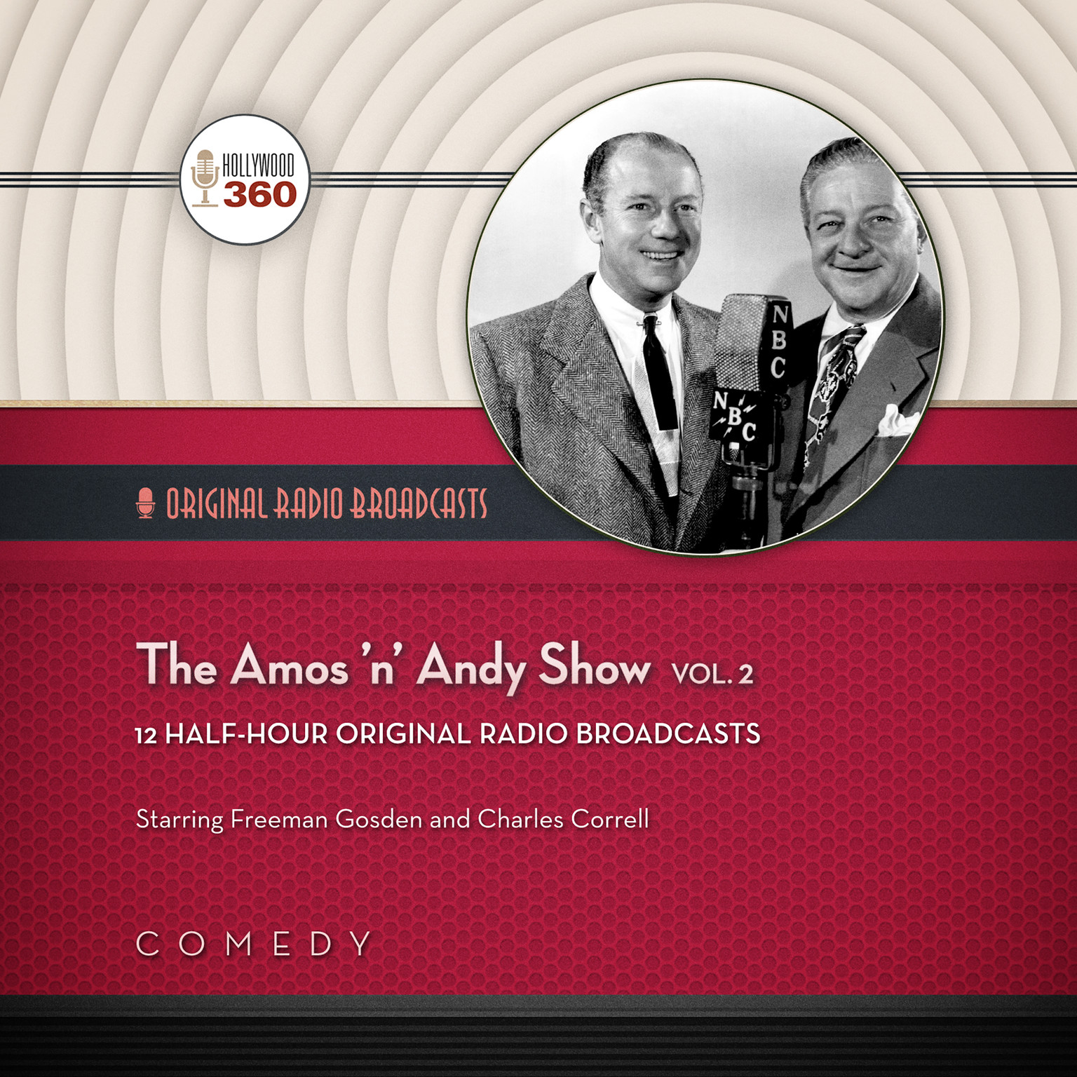 Printable The Amos 'n' Andy Show, Vol. 2 Audiobook Cover Art