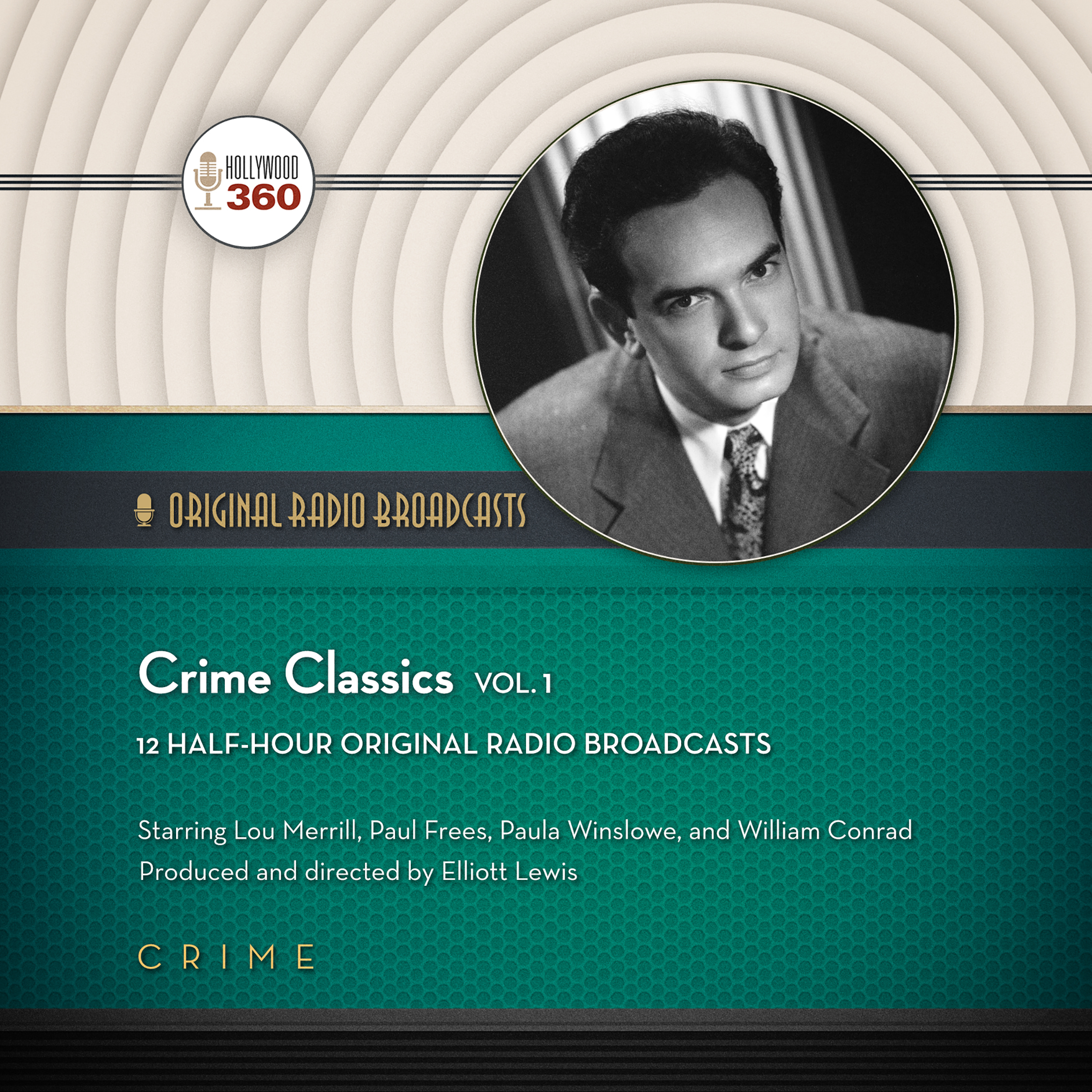 Printable Crime Classics, Vol. 1 Audiobook Cover Art