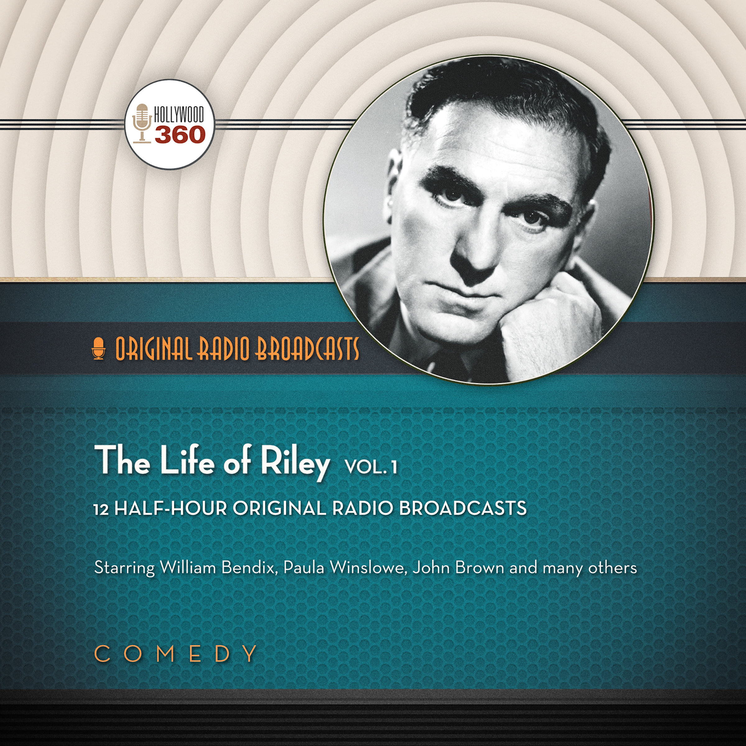 Printable The Life of Riley, Vol. 1 Audiobook Cover Art