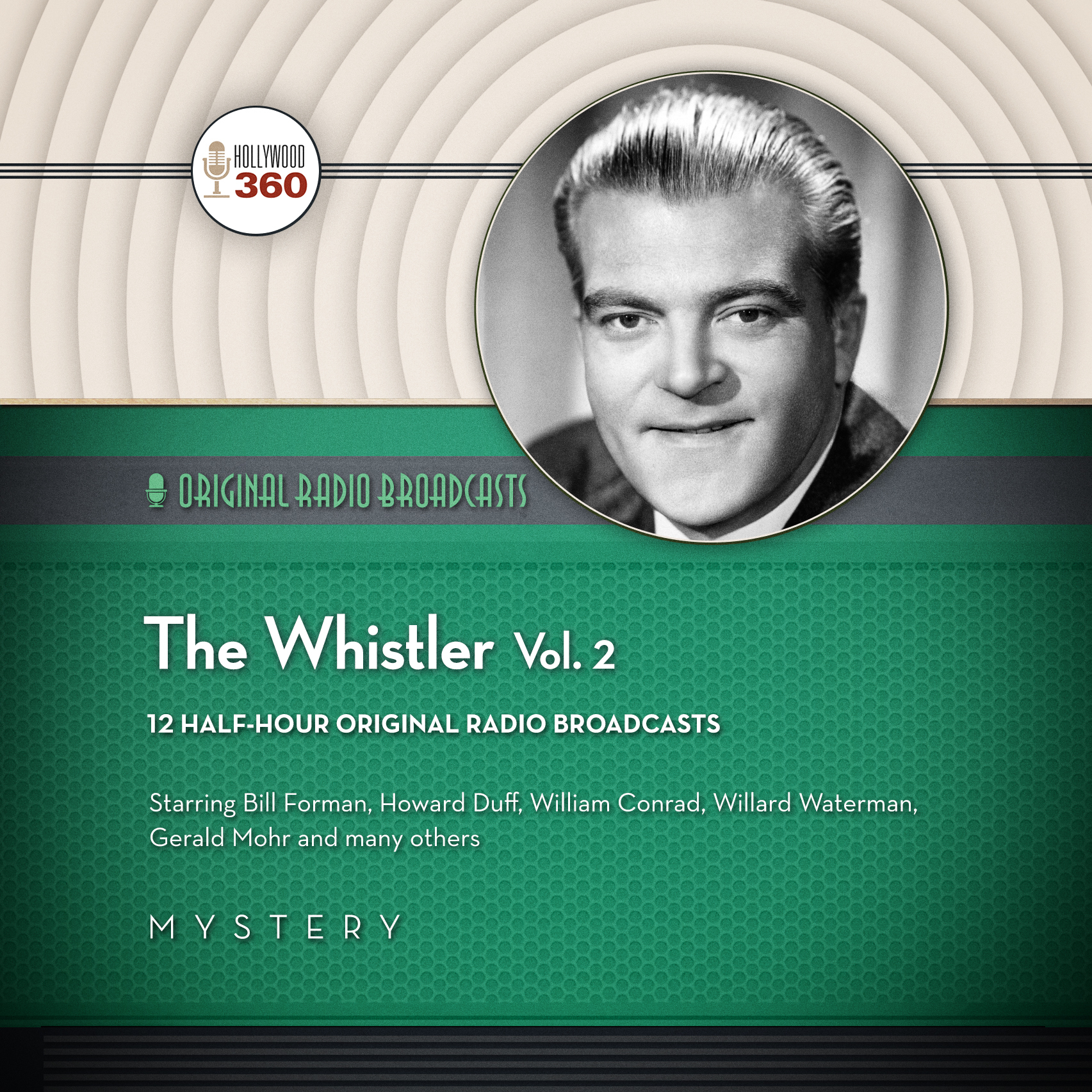 Printable The Whistler, Vol. 2 Audiobook Cover Art