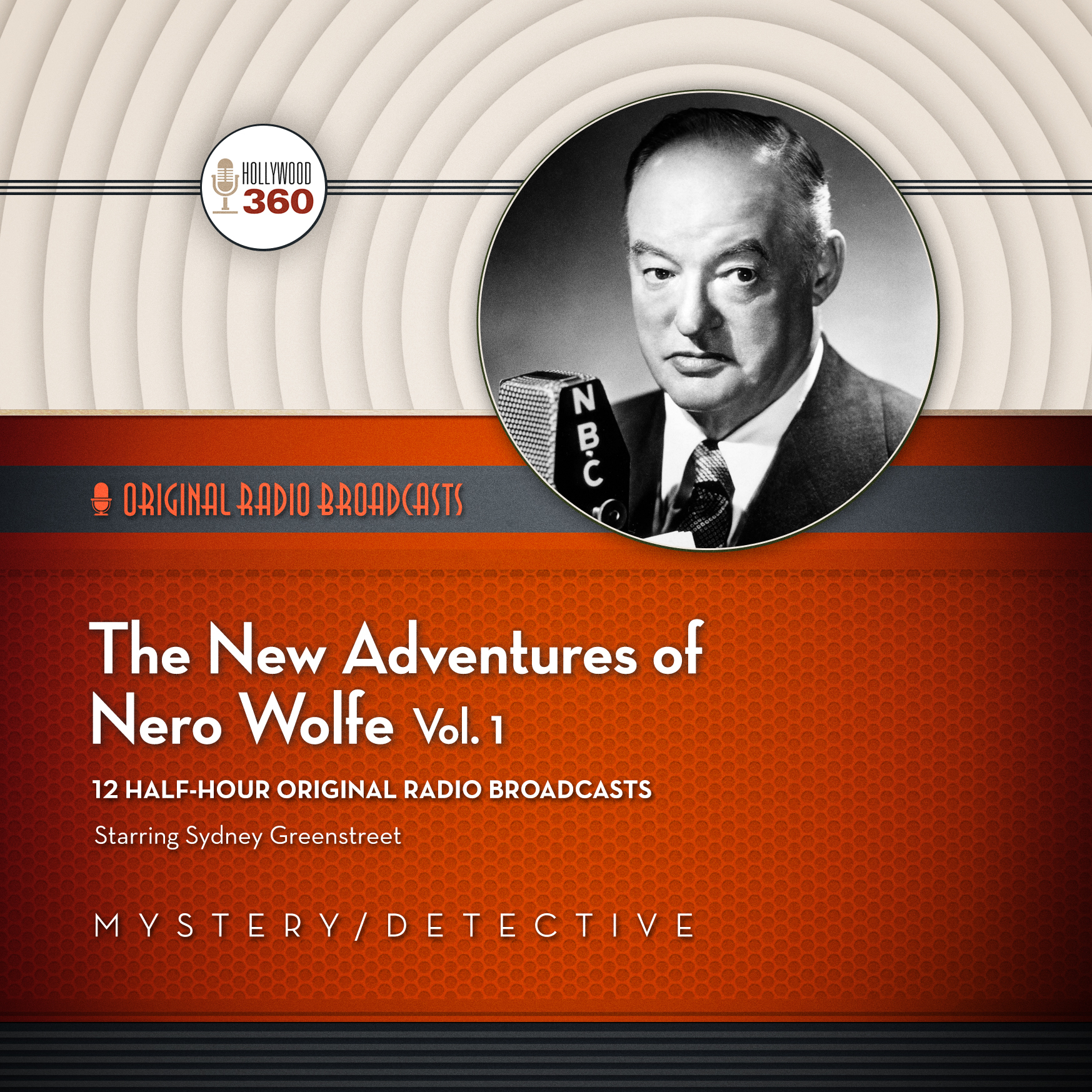 Printable The New Adventures of Nero Wolfe, Vol. 1 Audiobook Cover Art