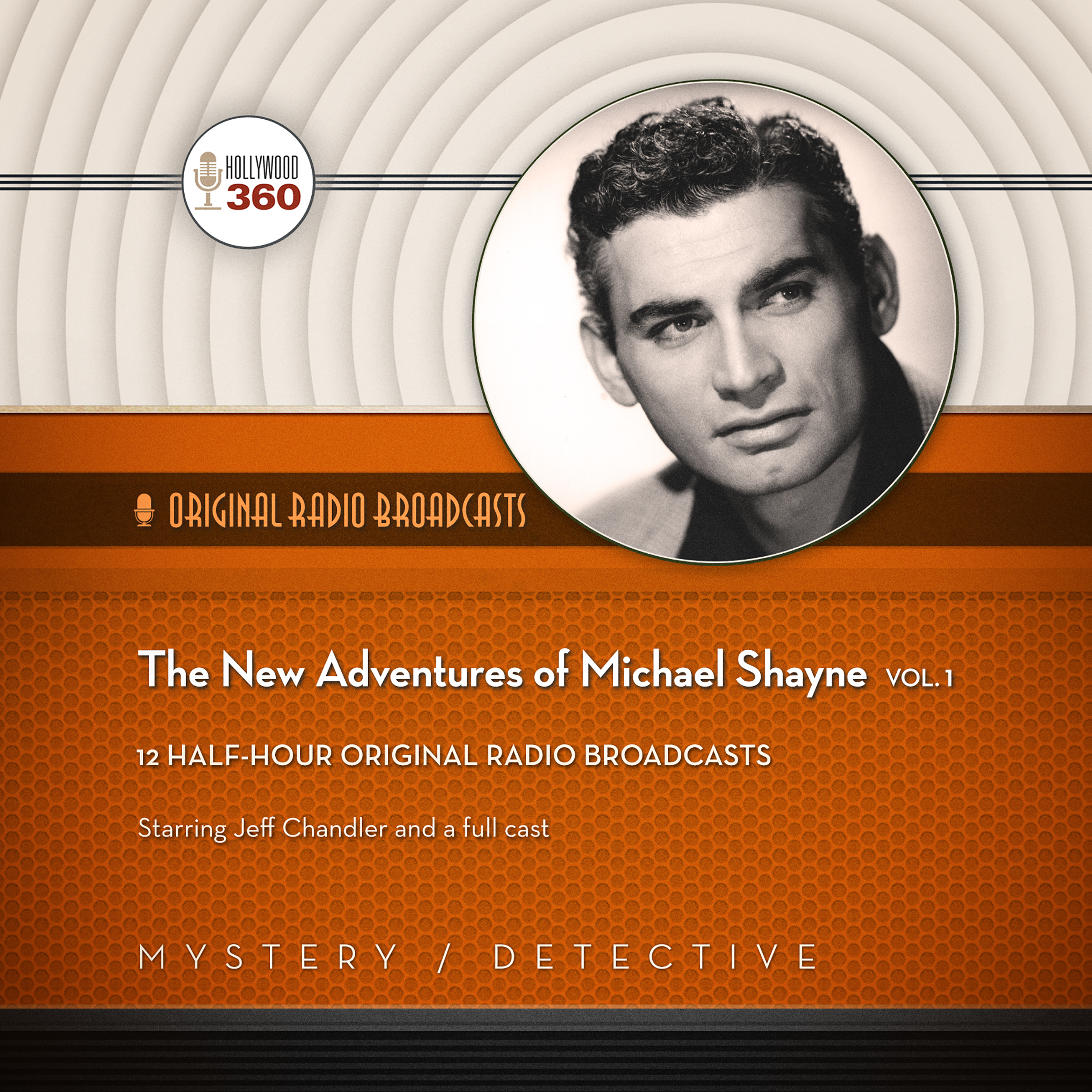 Printable The New Adventures of Michael Shayne, Vol. 1 Audiobook Cover Art