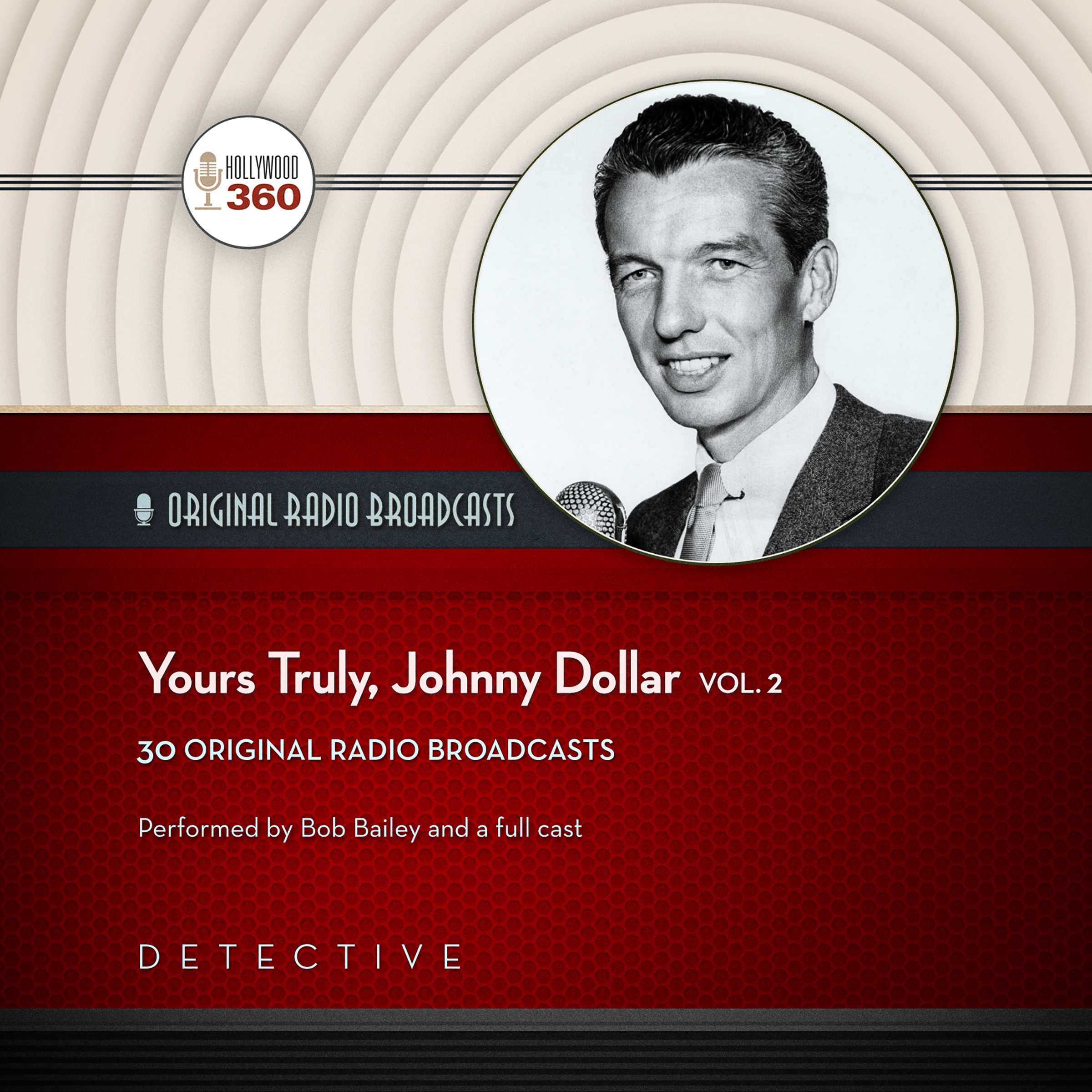 Printable Yours Truly, Johnny Dollar, Vol. 2 Audiobook Cover Art
